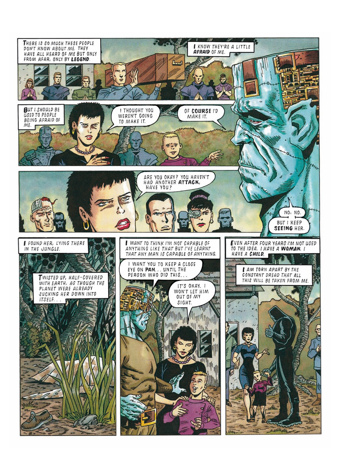 Read online The Complete Bad Company comic -  Issue # TPB - 265