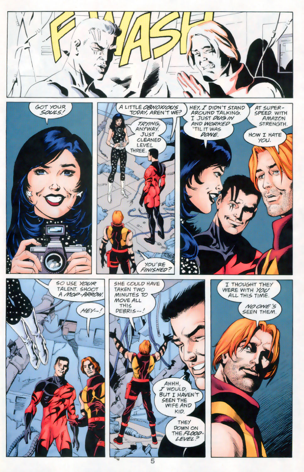 Read online The Titans (1999) comic -  Issue #45 - 6