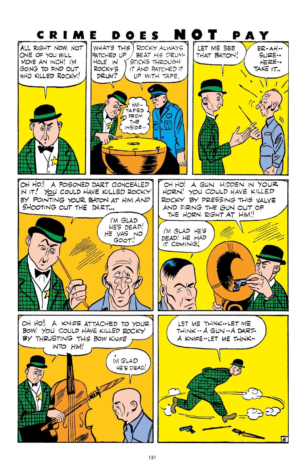Read online Crime Does Not Pay Archives comic -  Issue # TPB 3 (Part 2) - 21