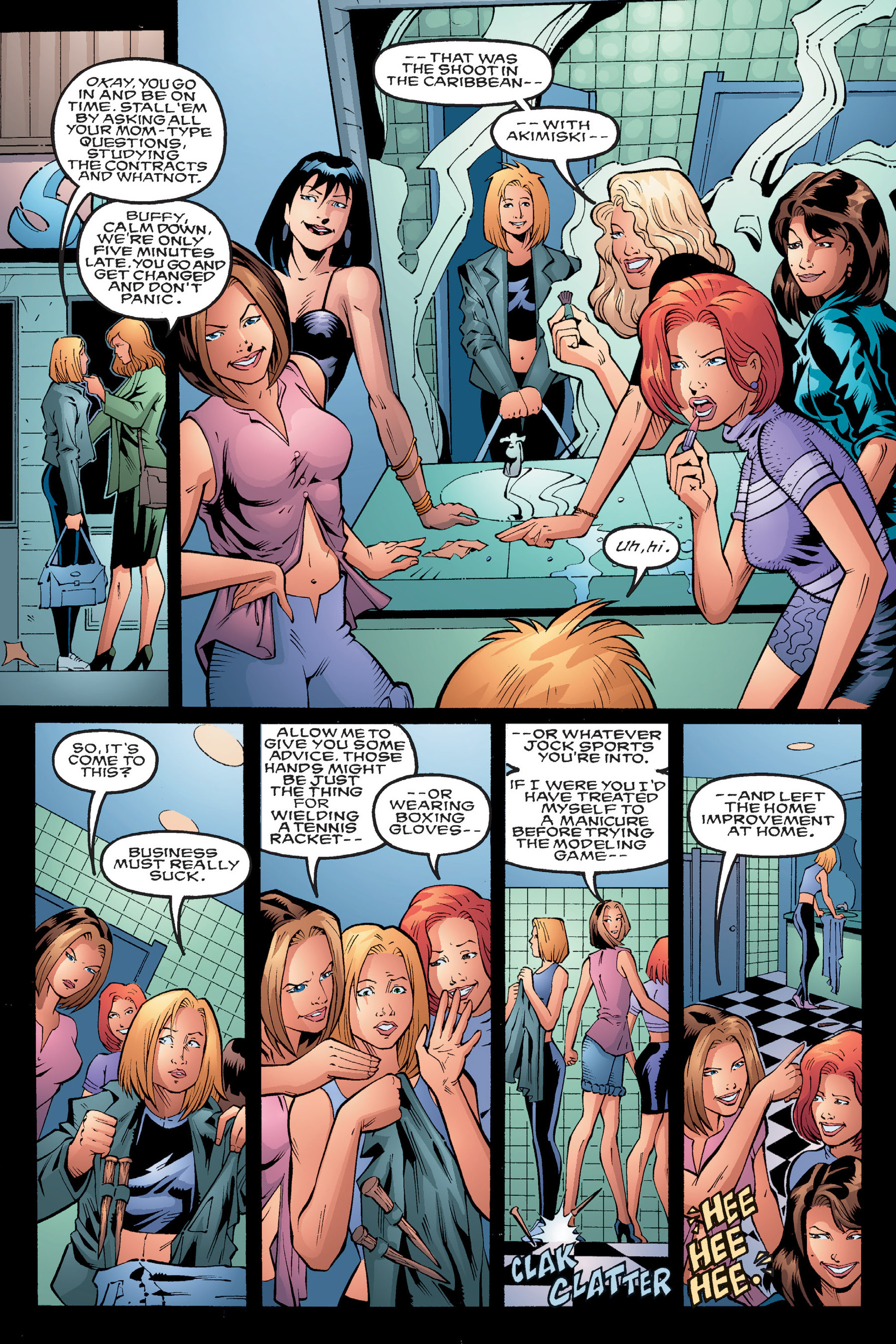 Read online Buffy the Vampire Slayer: Omnibus comic -  Issue # TPB 4 - 37