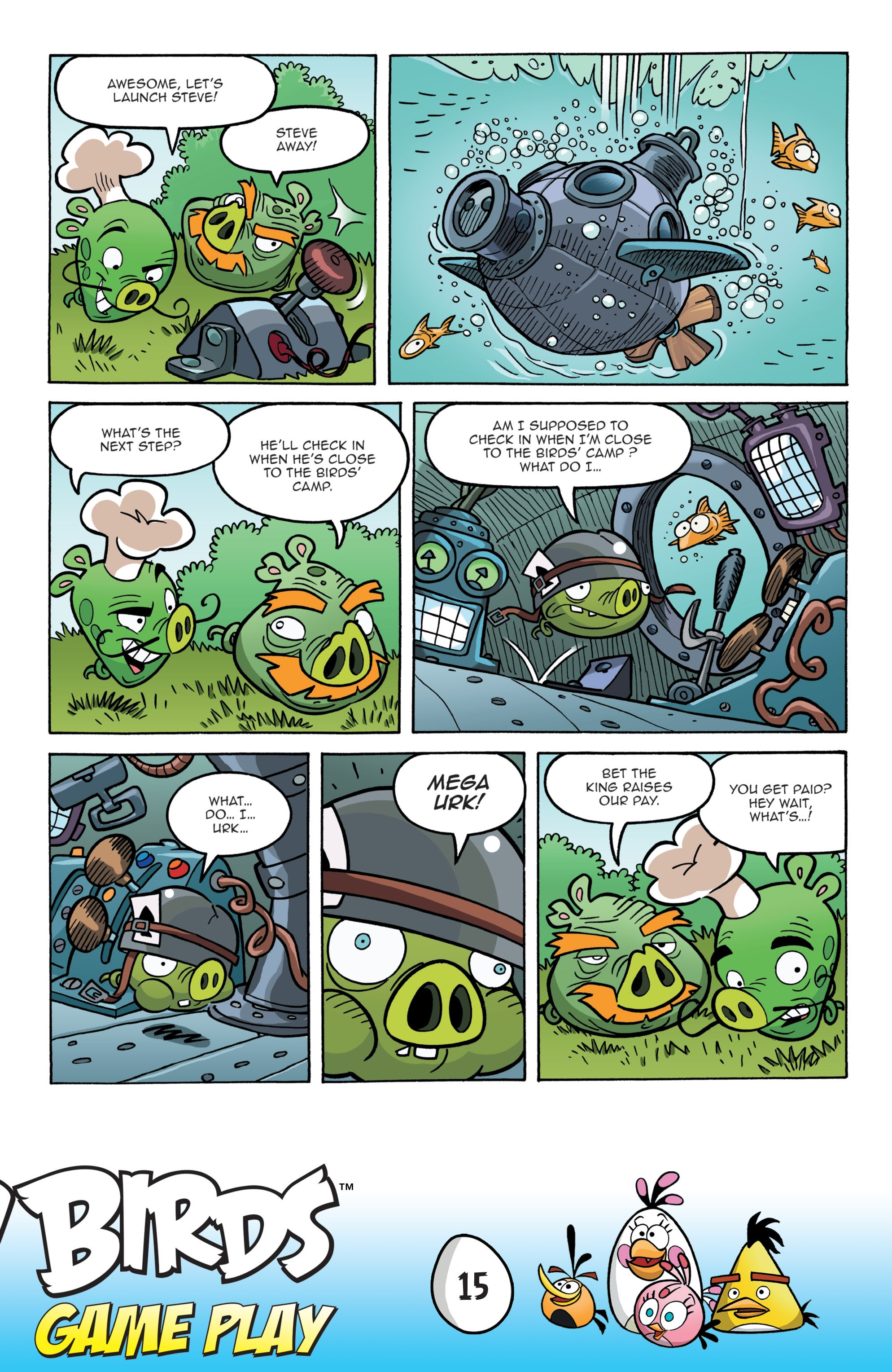 Read online Angry Birds Comics: Game Play comic -  Issue #1 - 17