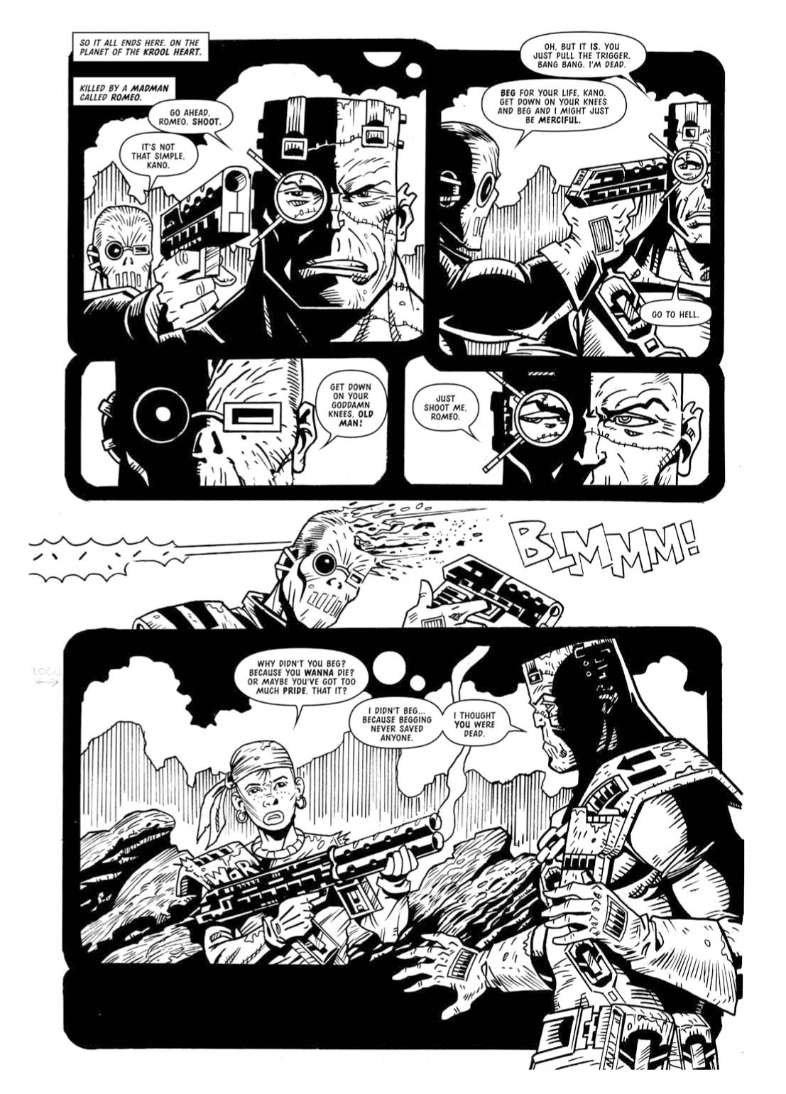 Read online The Complete Bad Company comic -  Issue # TPB - 341