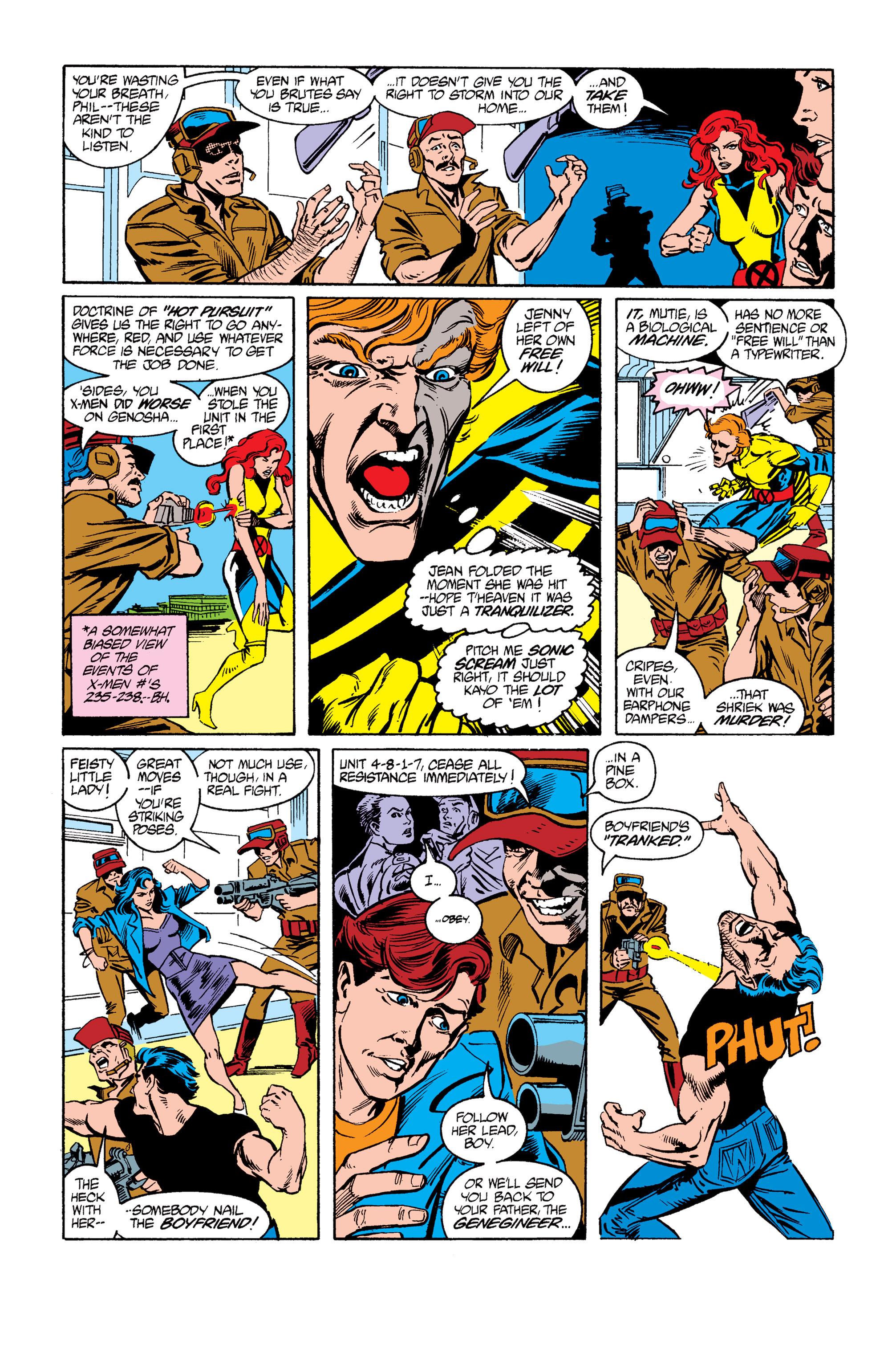 Read online Uncanny X-Men (1963) comic -  Issue #264 - 18