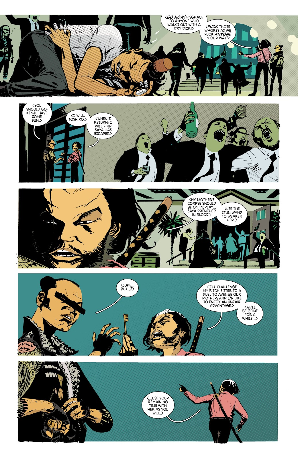 Read online Deadly Class comic -  Issue #37 - 5