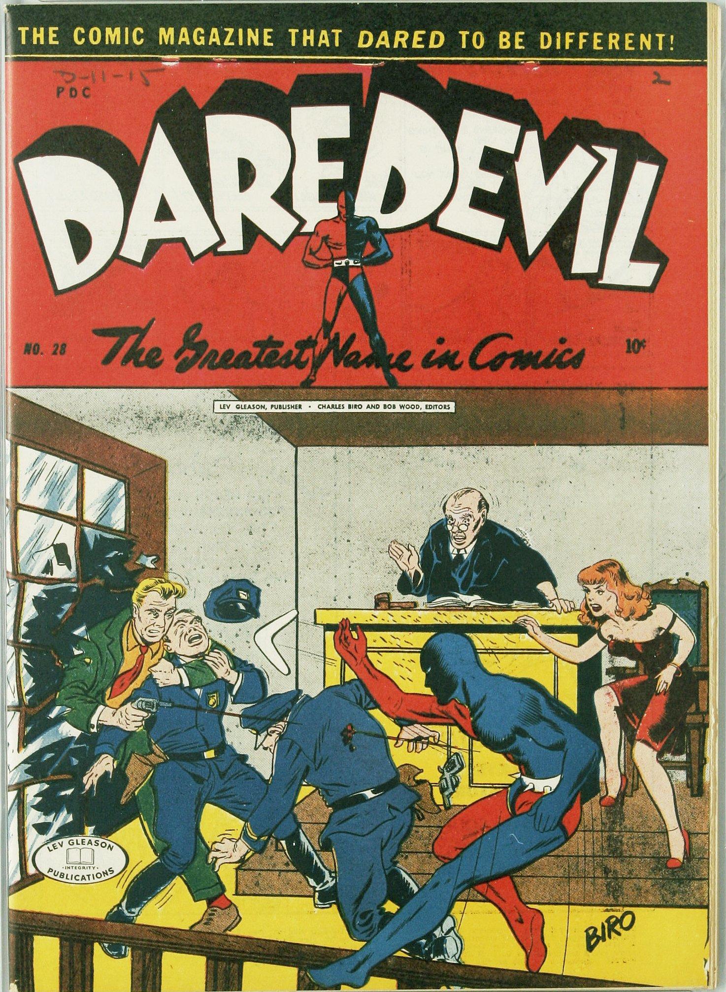 Daredevil (1941) 28 Page 1