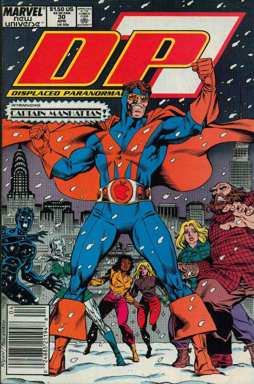 Read online DP7 comic -  Issue #30 - 1