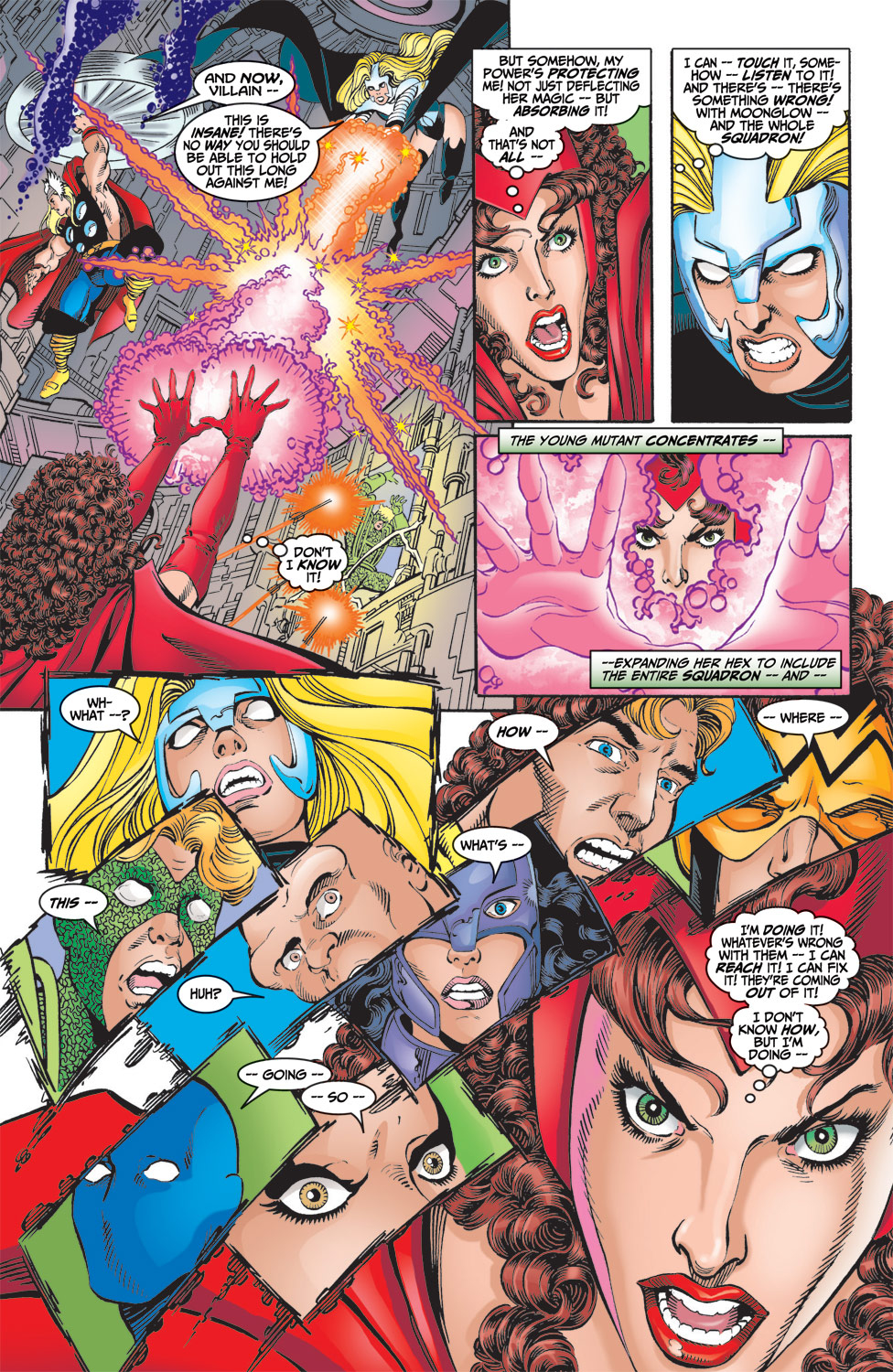 Read online Avengers (1998) comic -  Issue #6 - 19