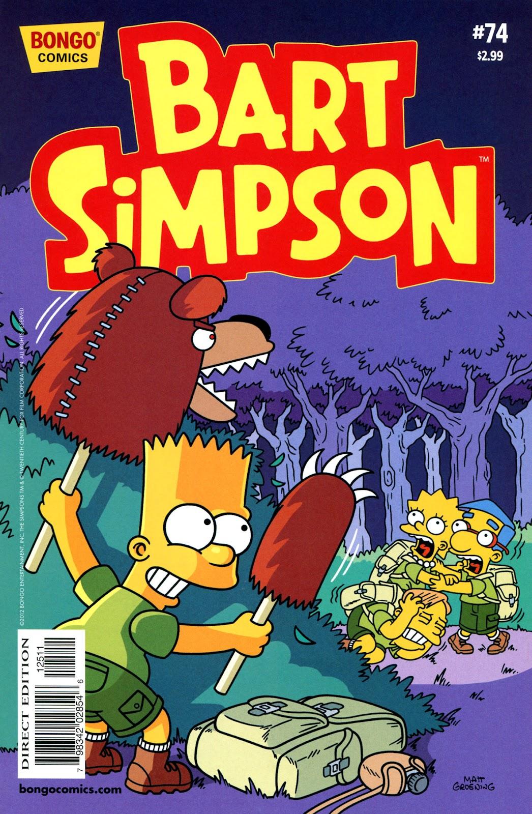 Simpsons Comics Presents Bart Simpson 74 Page 1