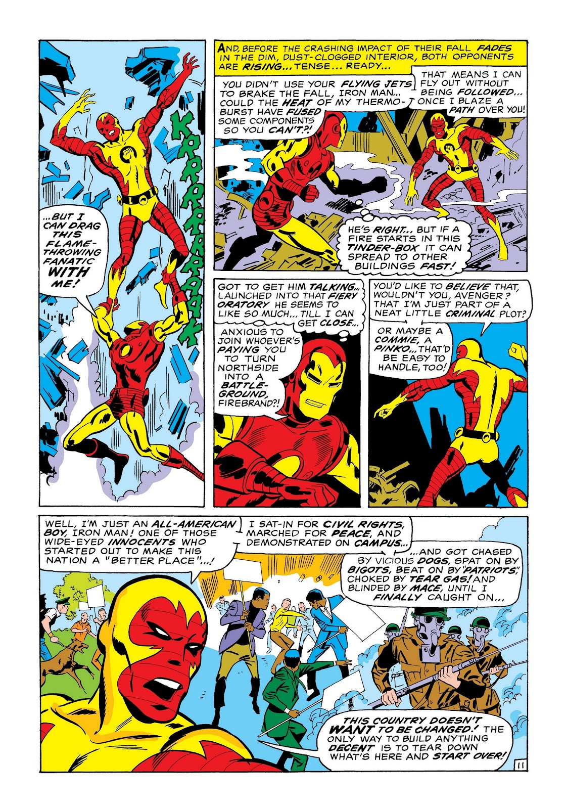 Read online Marvel Masterworks: The Invincible Iron Man comic -  Issue # TPB 7 (Part 1) - 40