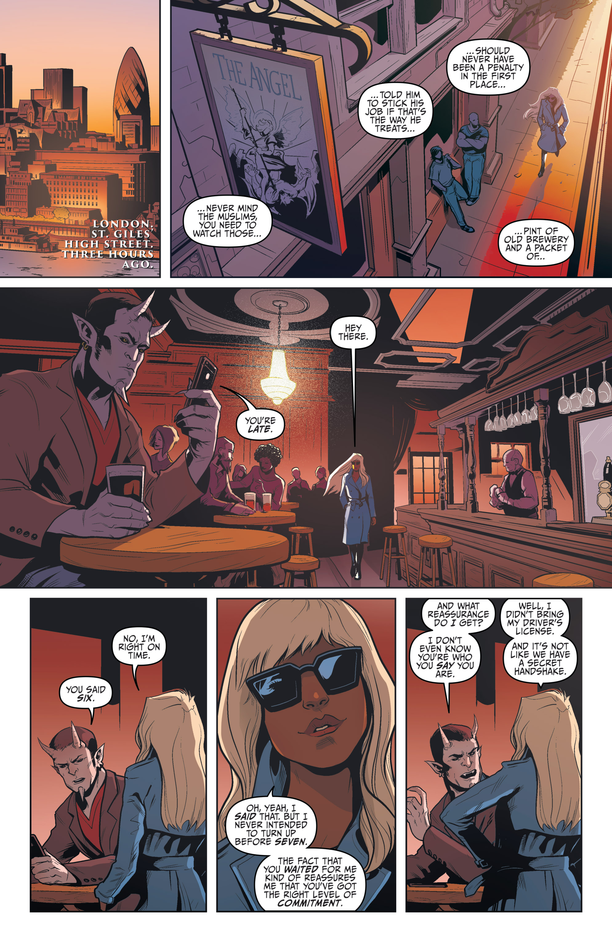 Read online Night Owl Society comic -  Issue #3 - 32