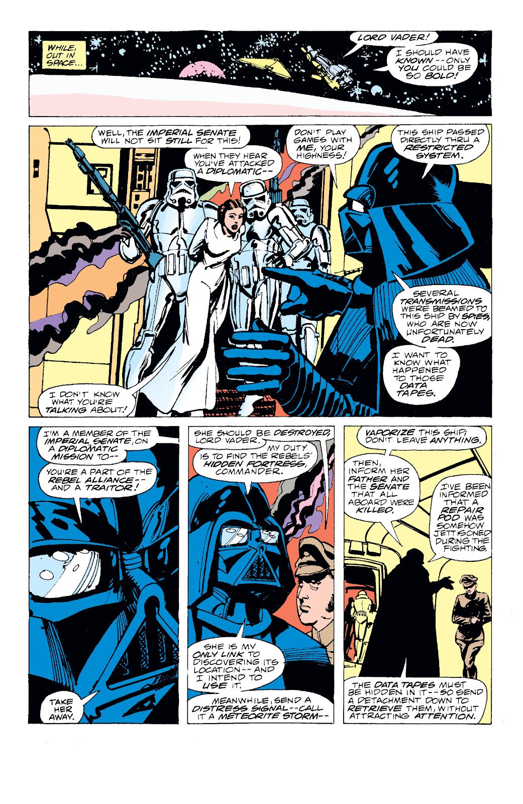 Read online Star Wars Legends: The Original Marvel Years - Epic Collection comic -  Issue # TPB 1 (Part 1) - 10