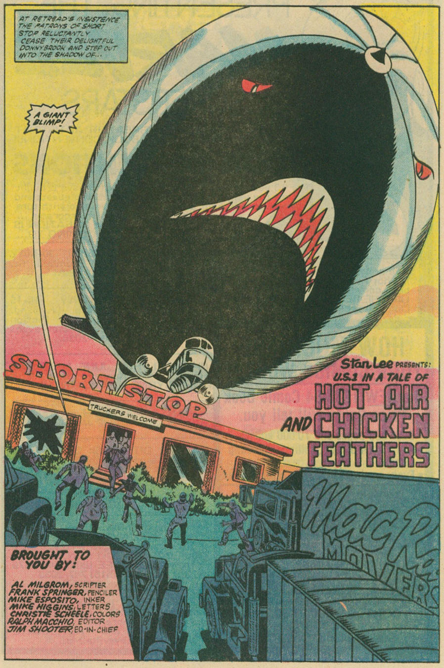 Read online U.S. 1 comic -  Issue #4 - 4