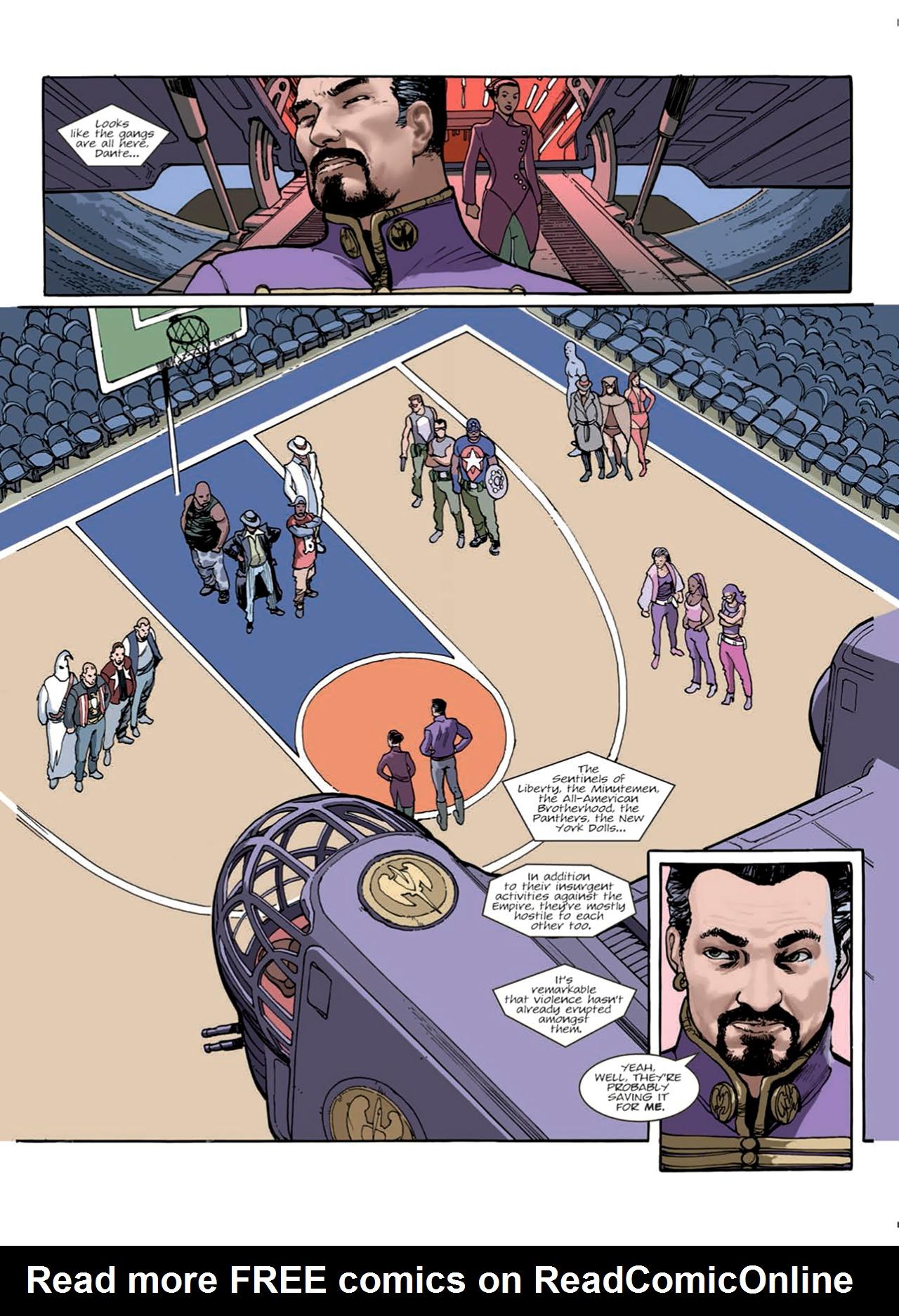 Read online Nikolai Dante comic -  Issue # TPB 9 - 37