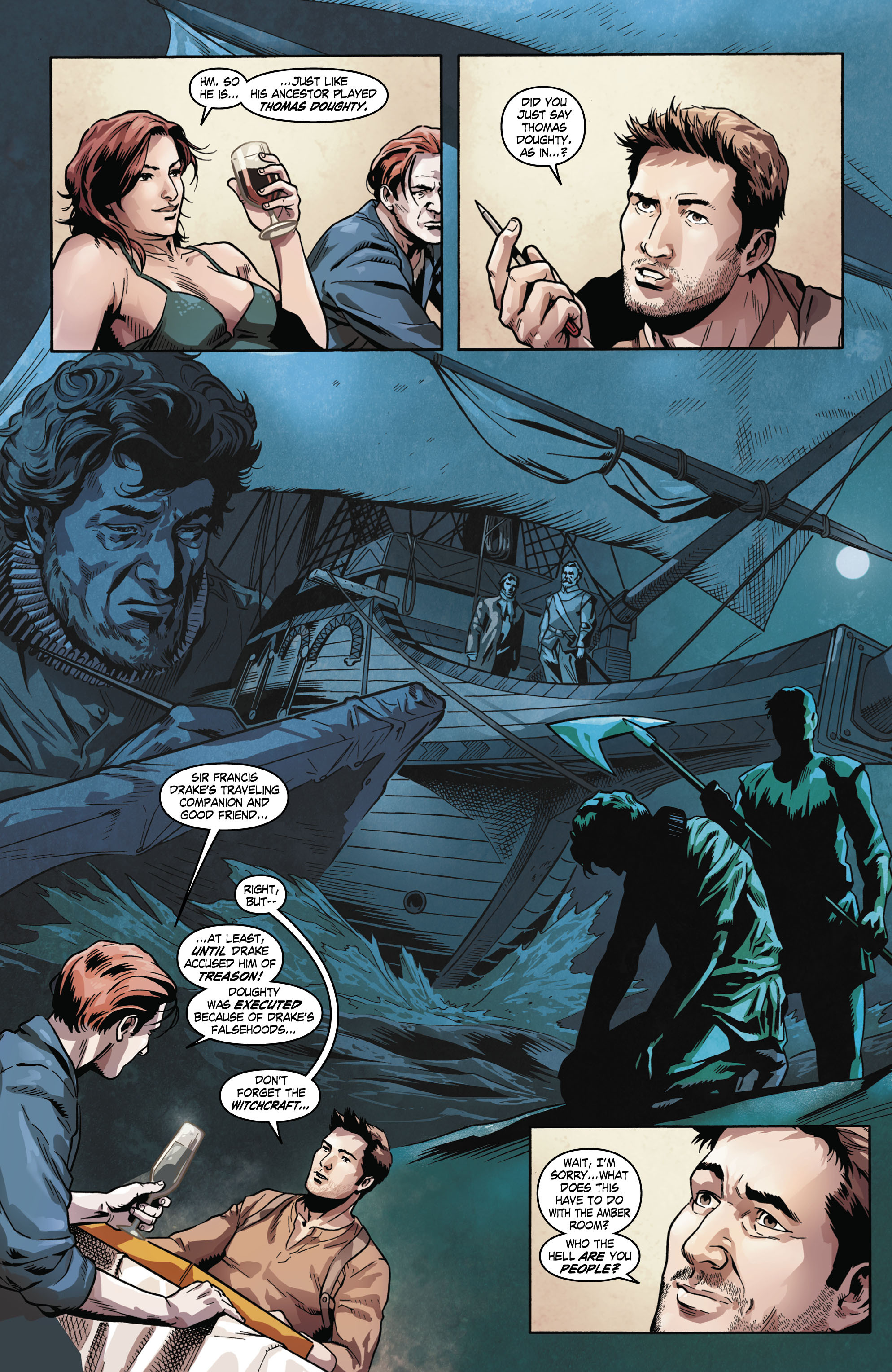 Read online Uncharted comic -  Issue #2 - 18
