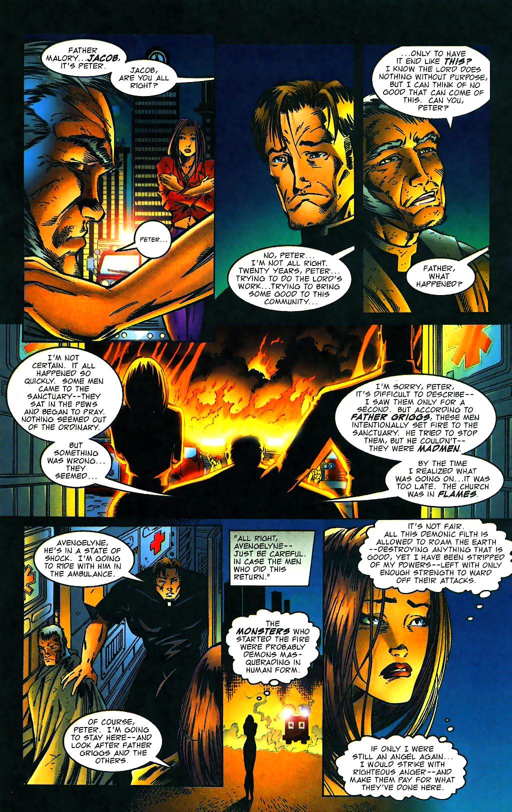 Read online Avengelyne (1996) comic -  Issue #1 - 5