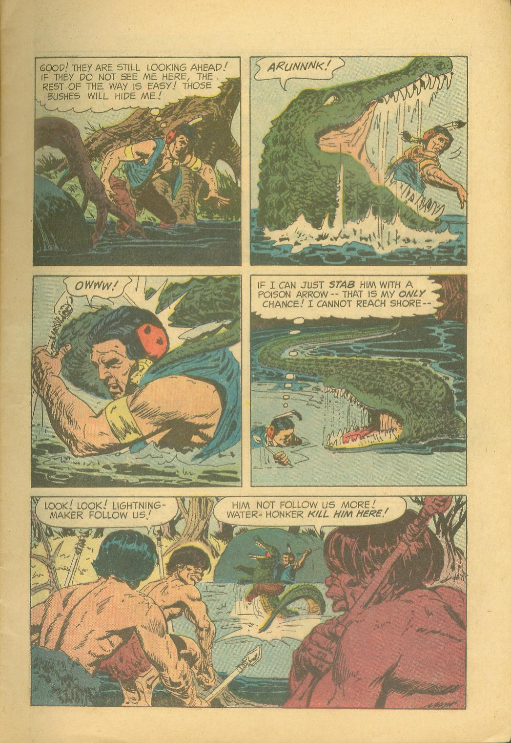 Read online Turok, Son of Stone comic -  Issue #28 - 9