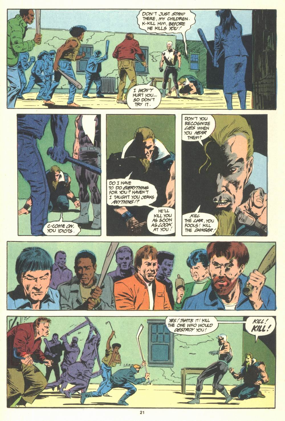 Read online Justice (1986) comic -  Issue #19 - 23