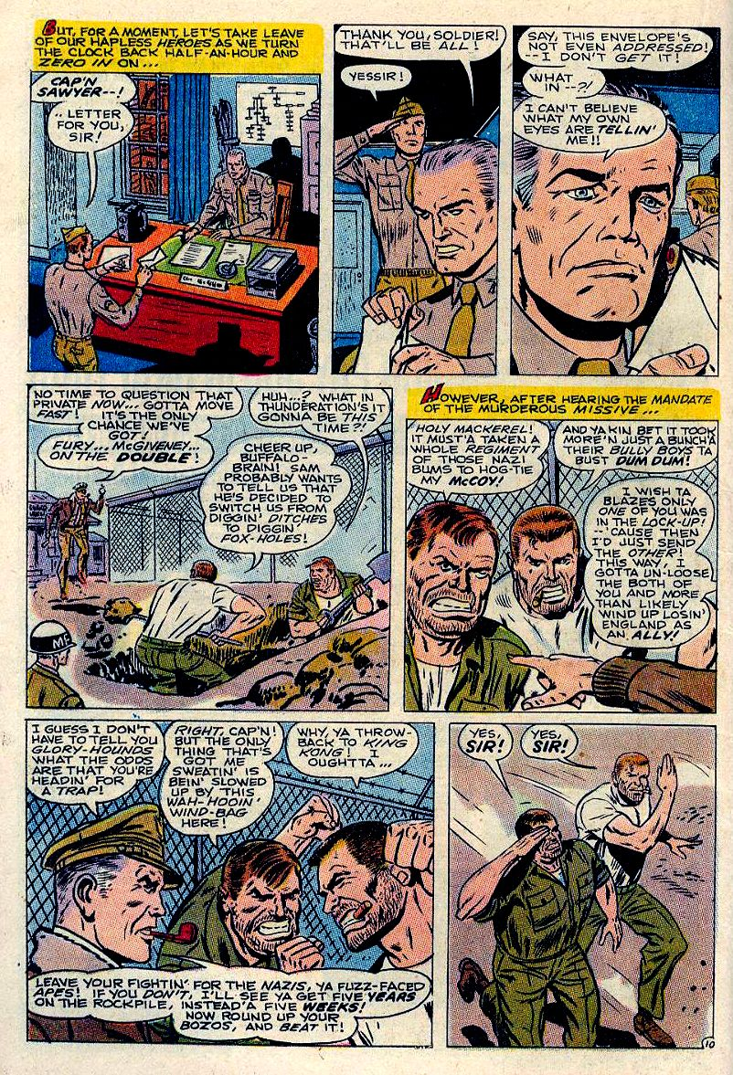 Read online Sgt. Fury comic -  Issue #84 - 16