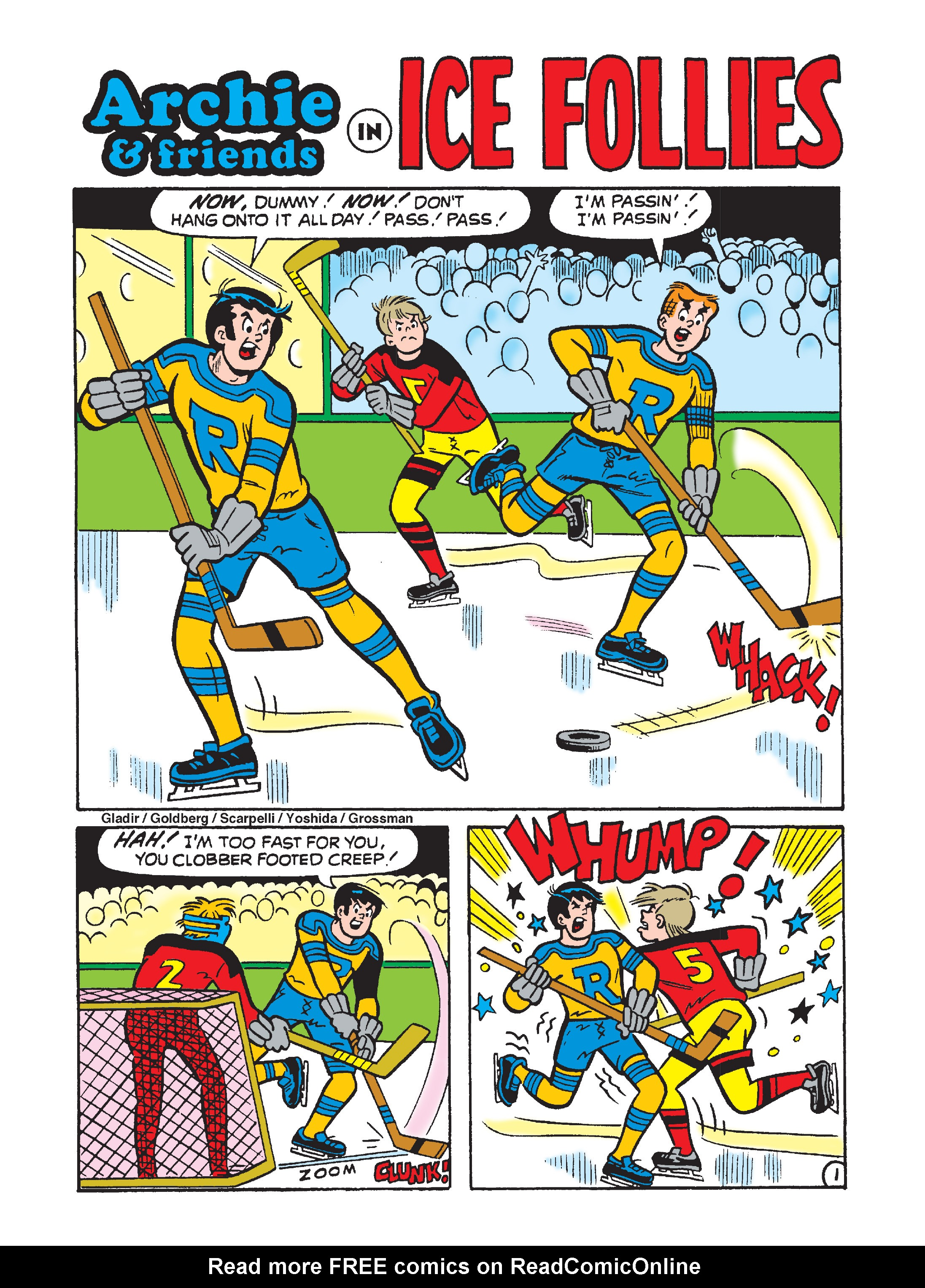 Read online Archie's Funhouse Double Digest comic -  Issue #2 - 63