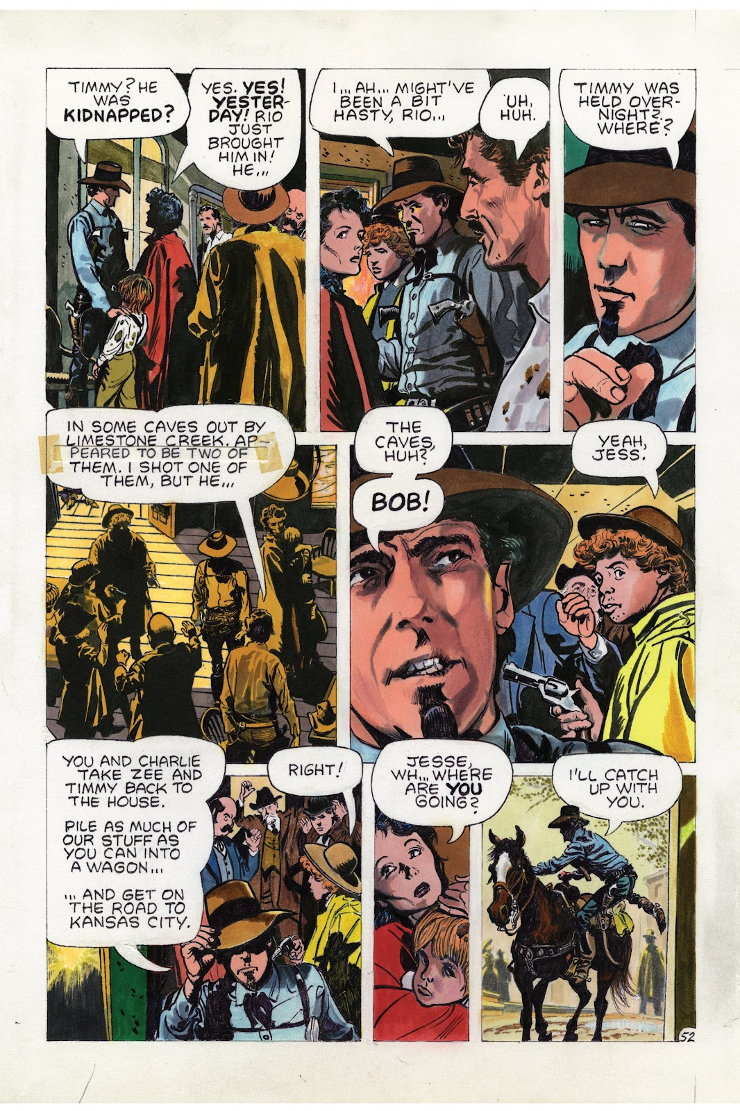 Read online Doug Wildey's Rio: The Complete Saga comic -  Issue # TPB (Part 2) - 17