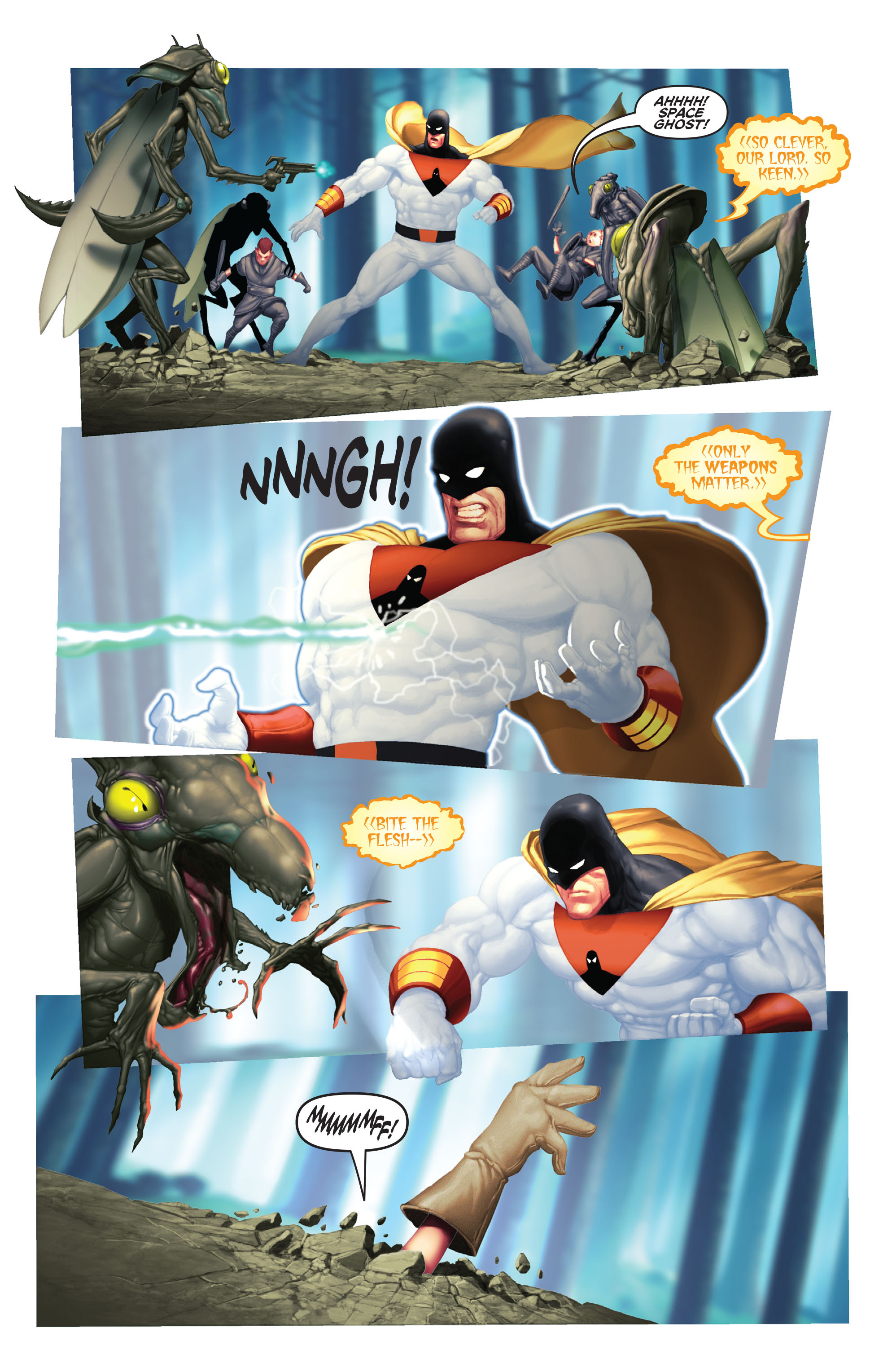 Read online Space Ghost (2016) comic -  Issue # Full - 85