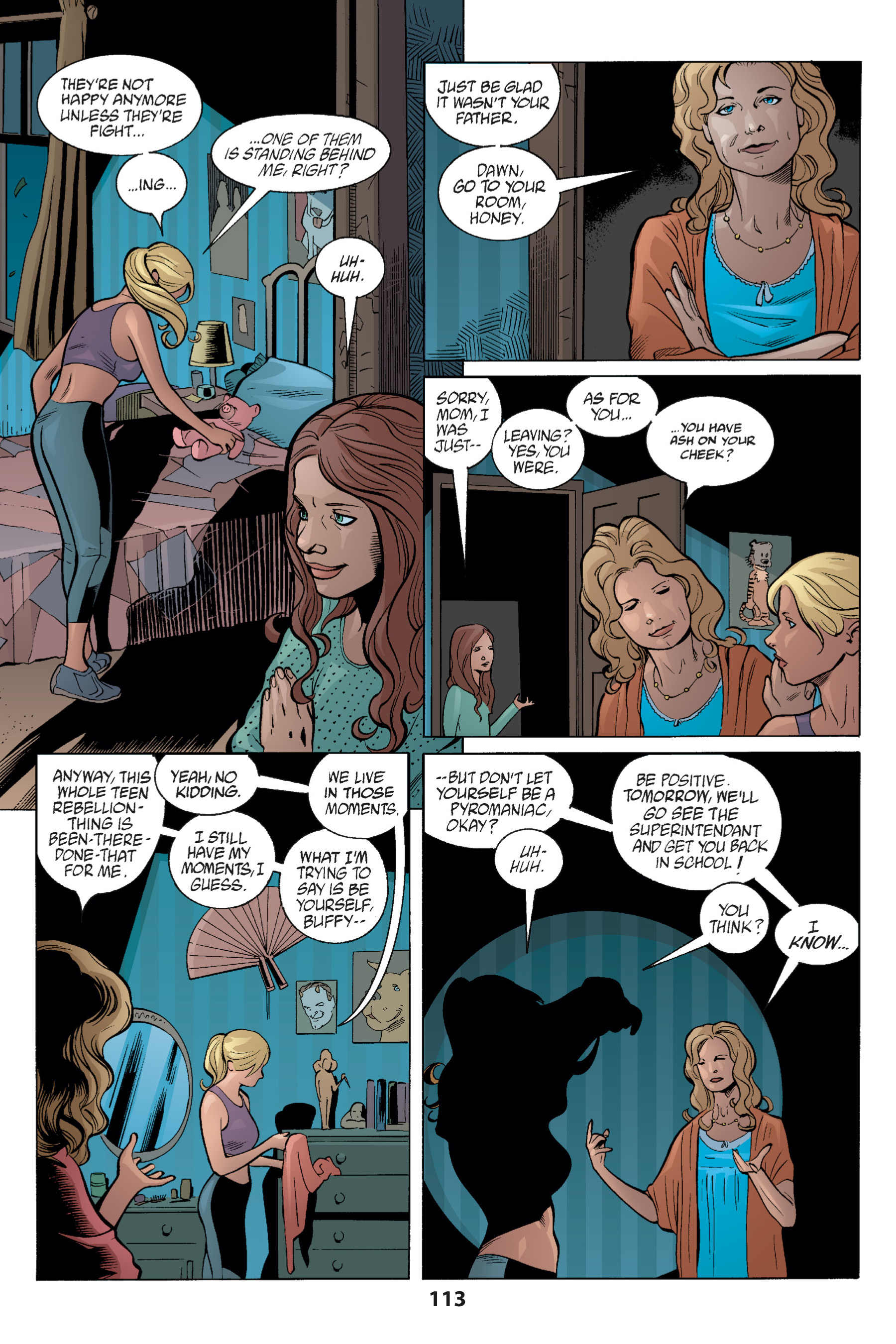Read online Buffy the Vampire Slayer: Omnibus comic -  Issue # TPB 1 - 112