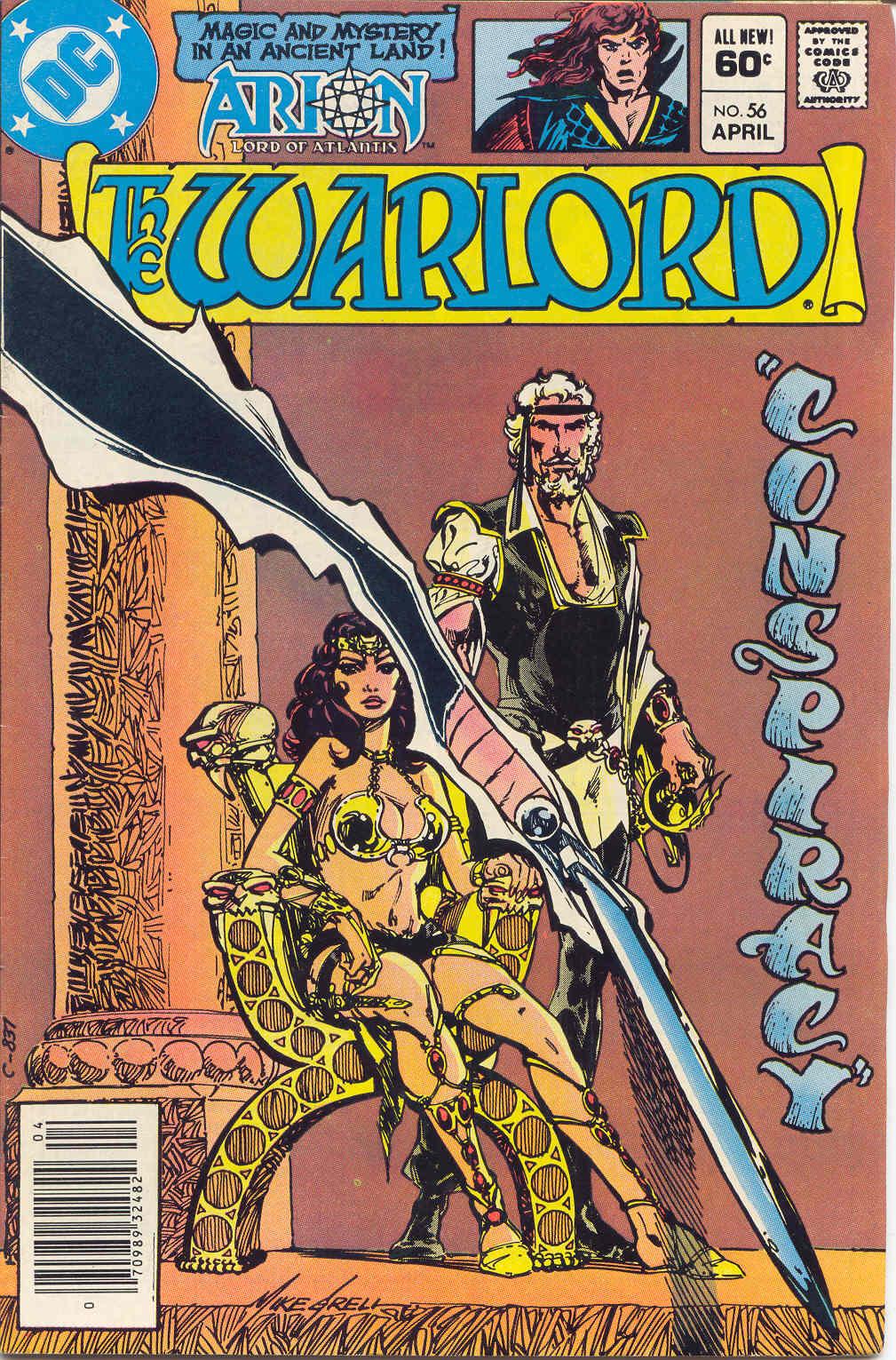 Warlord (1976) 56 Page 1