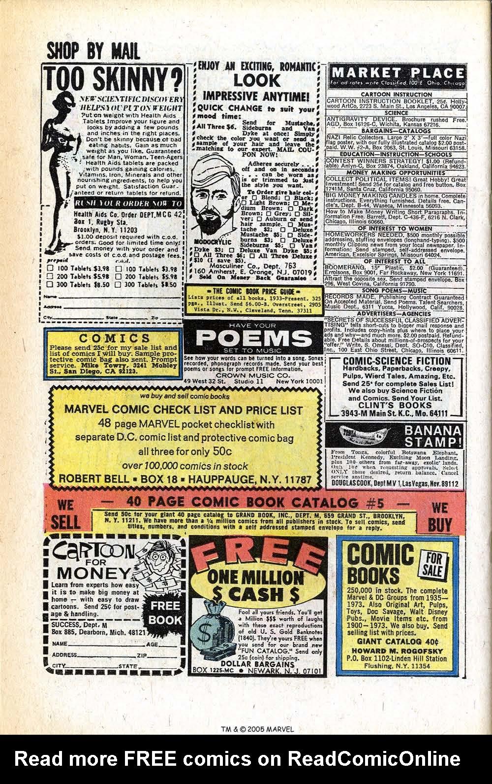 Read online Uncanny X-Men (1963) comic -  Issue #78 - 26