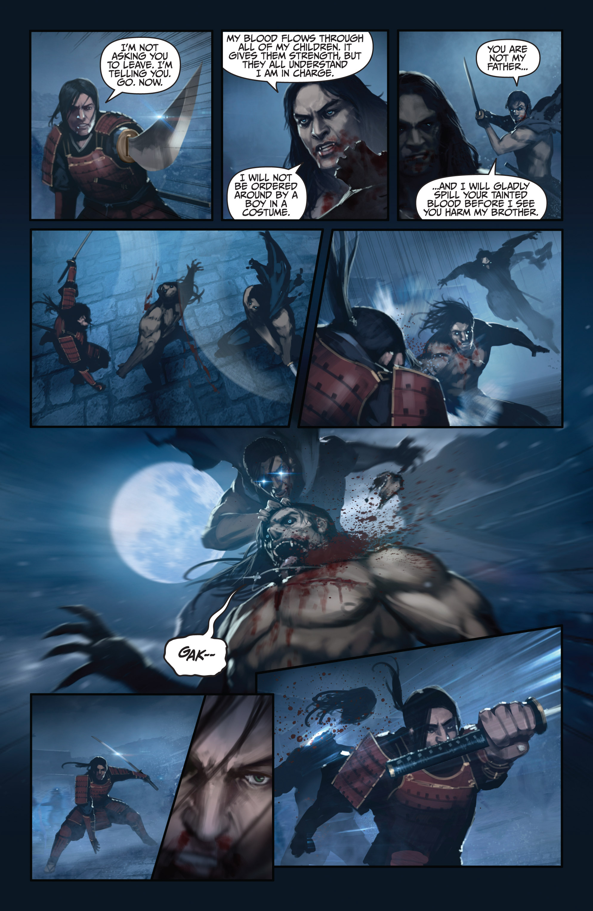 Read online Bushido: The Way of the Warrior comic -  Issue #5 - 18