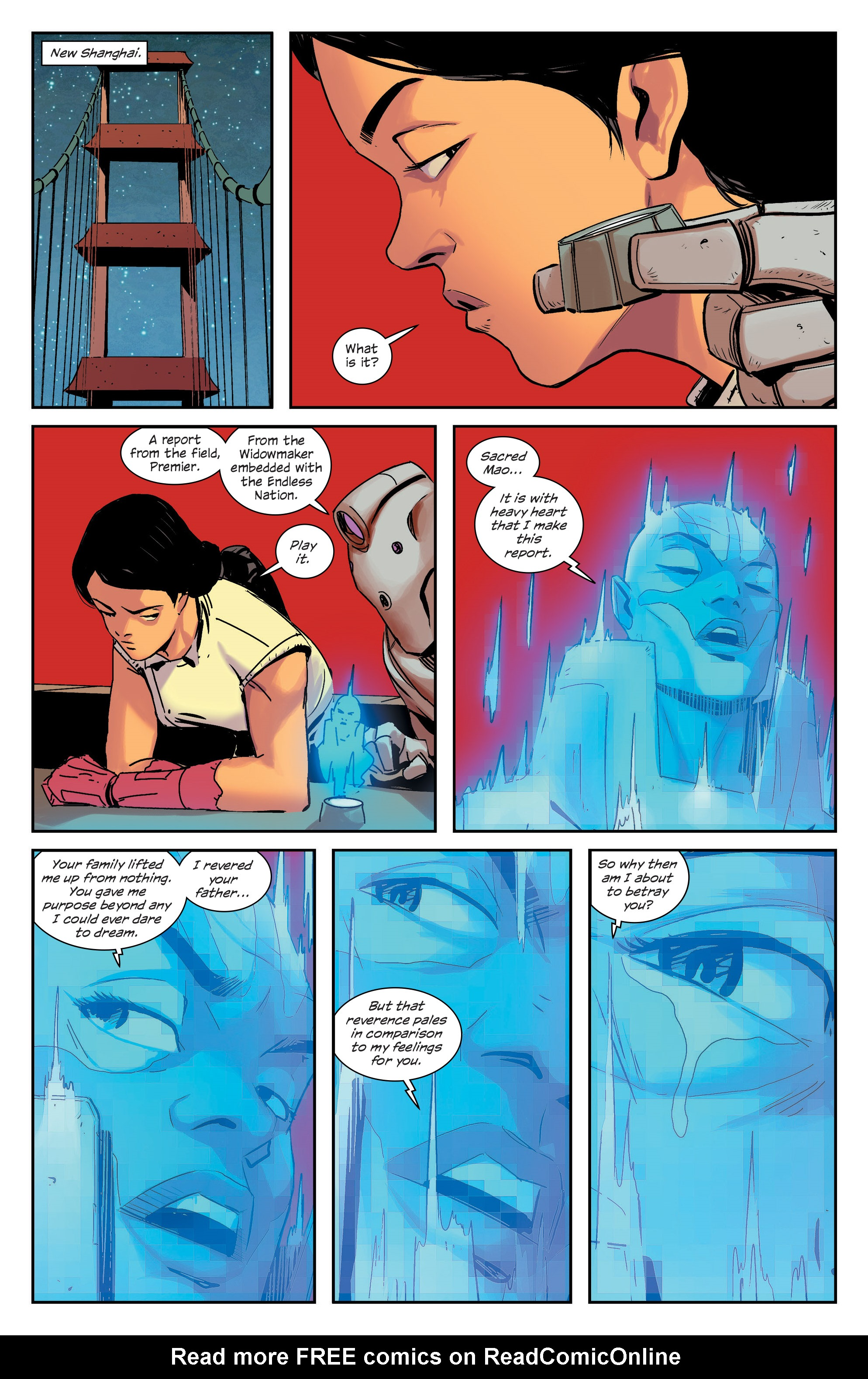Read online East Of West comic -  Issue #33 - 17