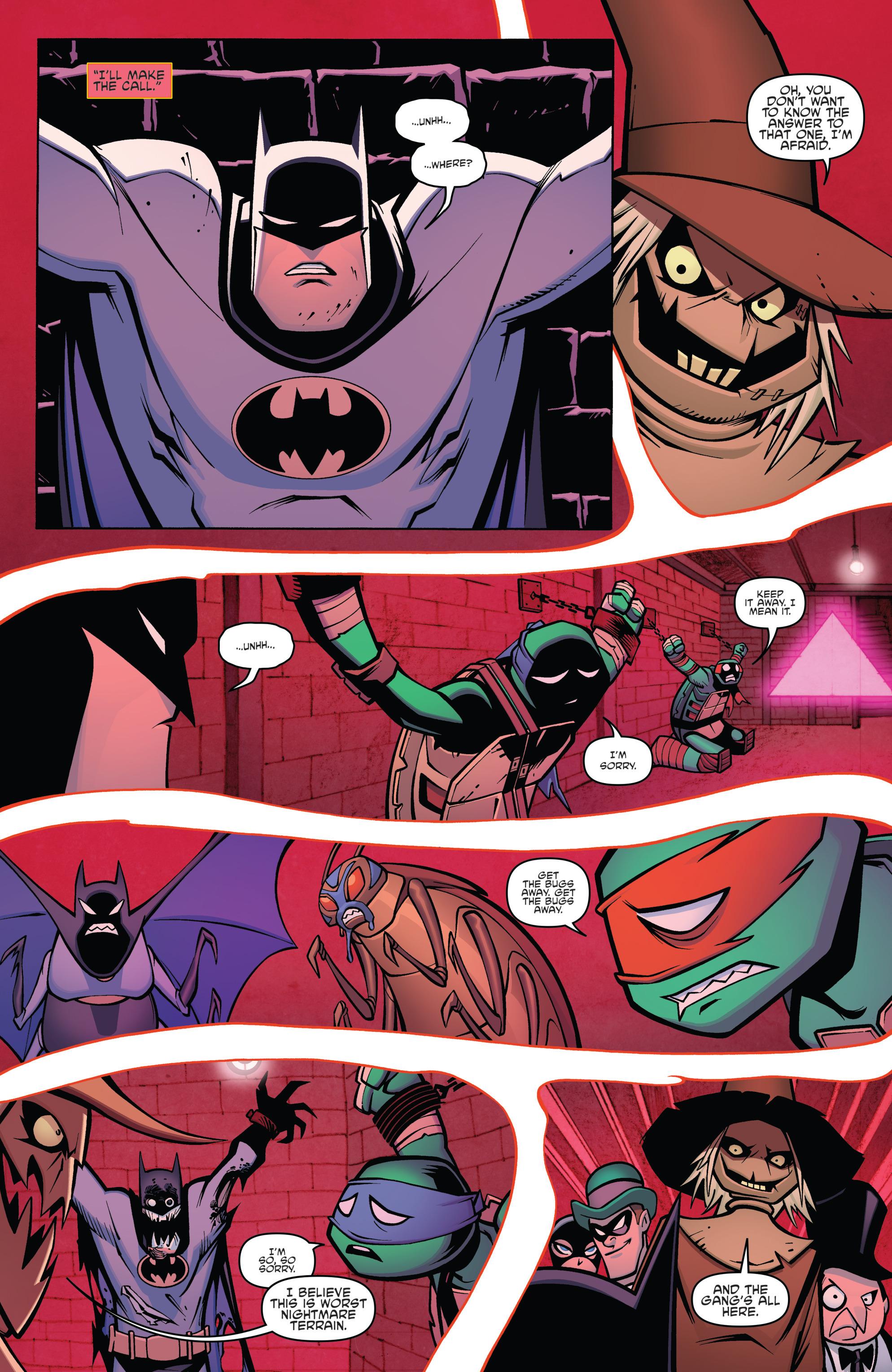 Read online Batman/Teenage Mutant Ninja Turtles Adventure comic -  Issue #4 - 9