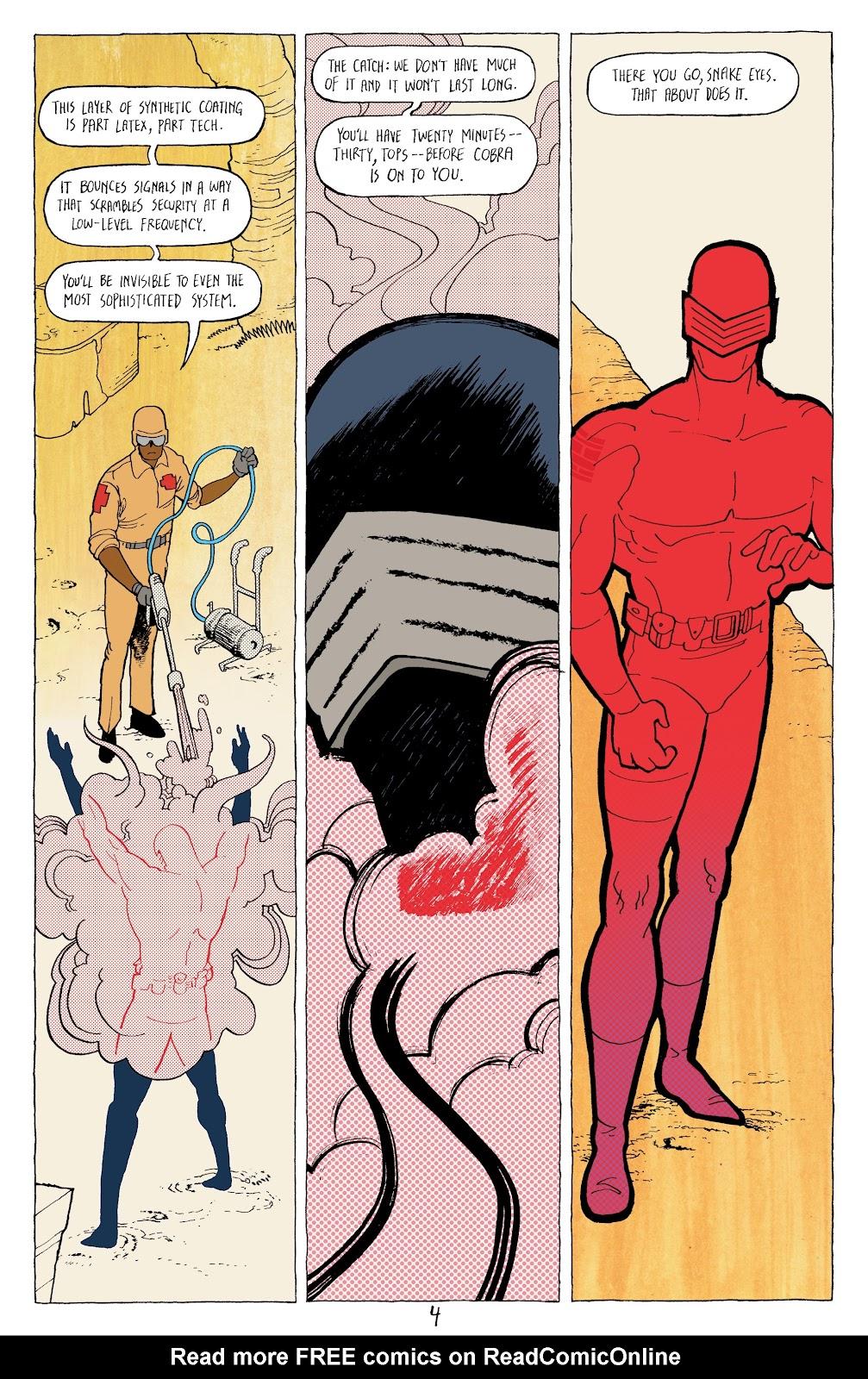 Read online G.I. Joe: Sierra Muerte comic -  Issue #3 - 6