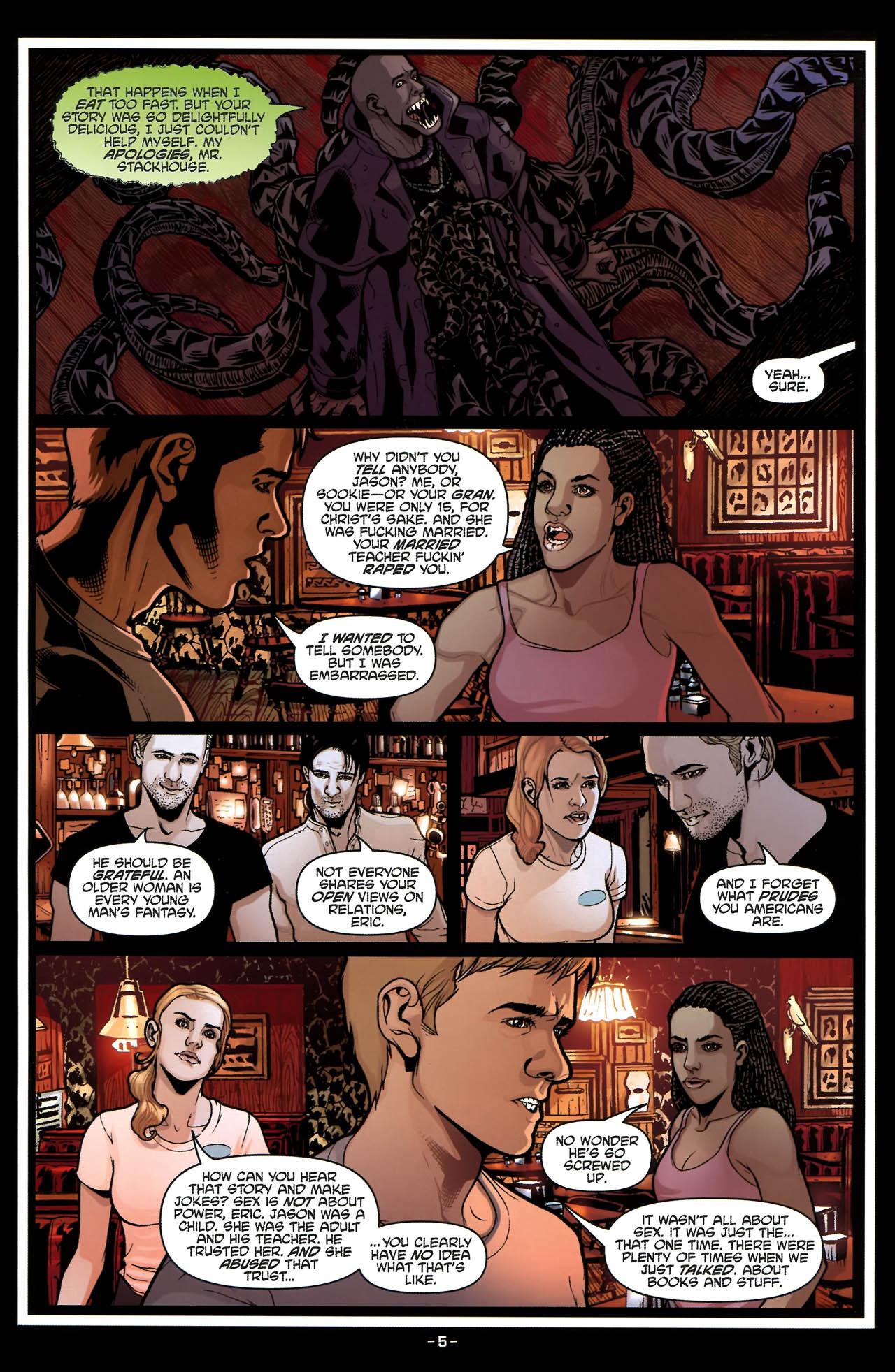 Read online True Blood (2010) comic -  Issue #5 - 8