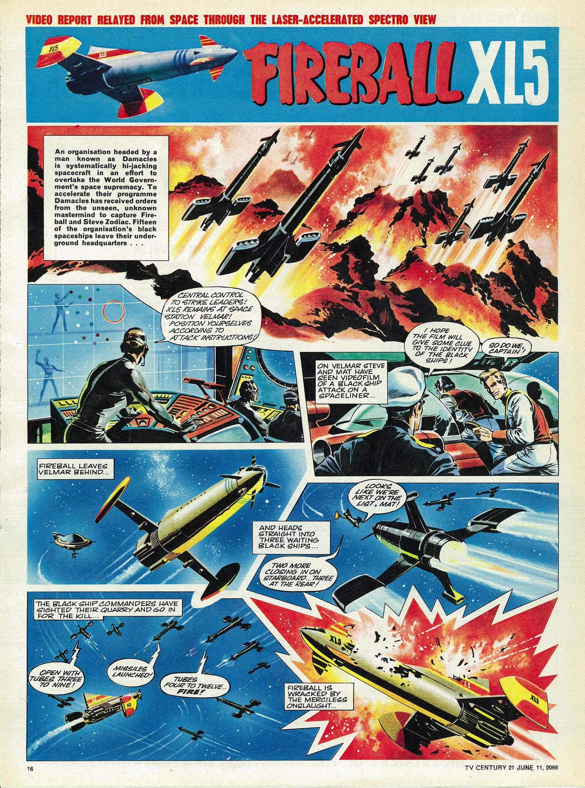 Read online TV Century 21 (TV 21) comic -  Issue #73 - 15
