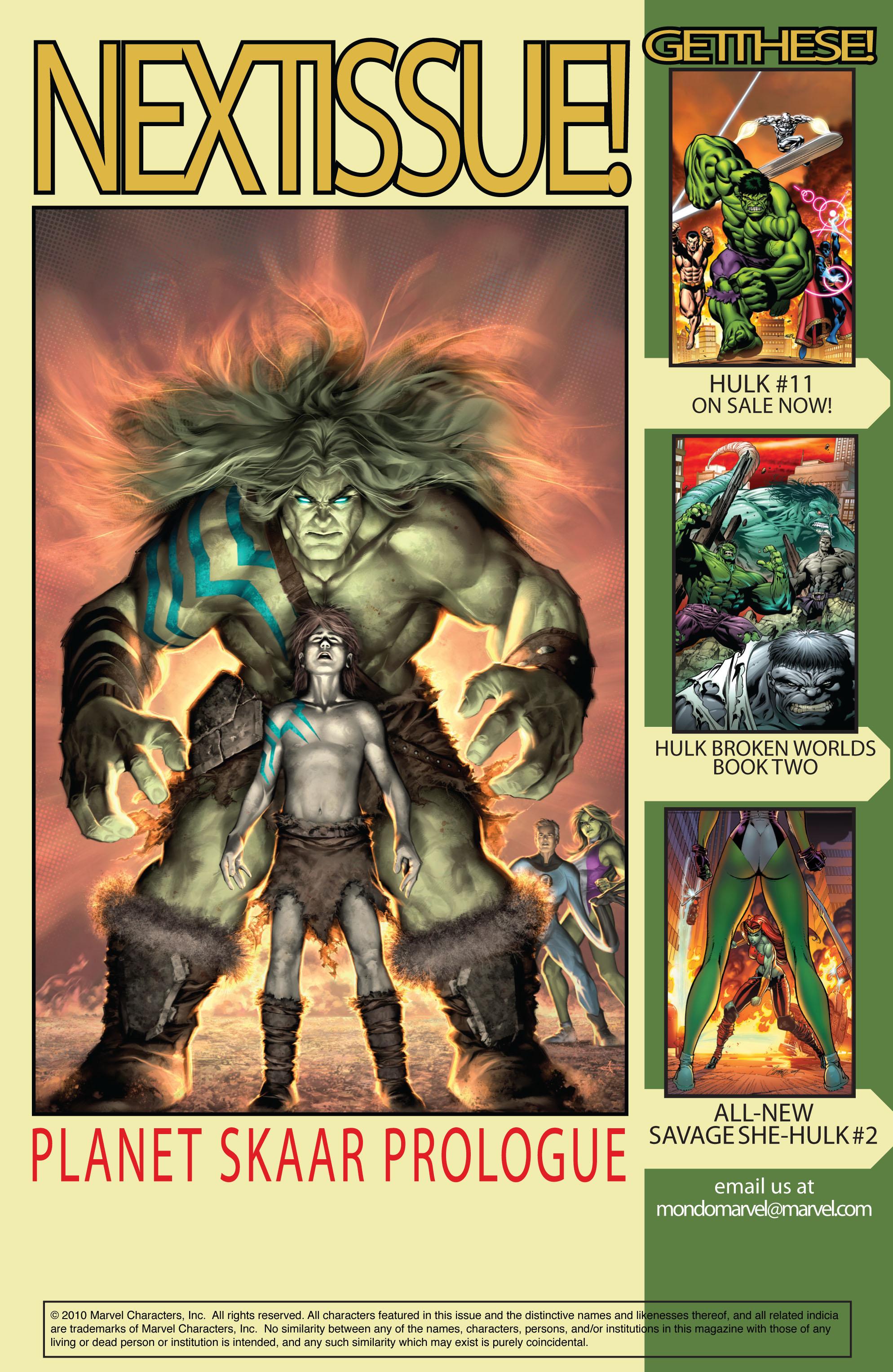 Read online Skaar: Son of Hulk comic -  Issue #10 - 27