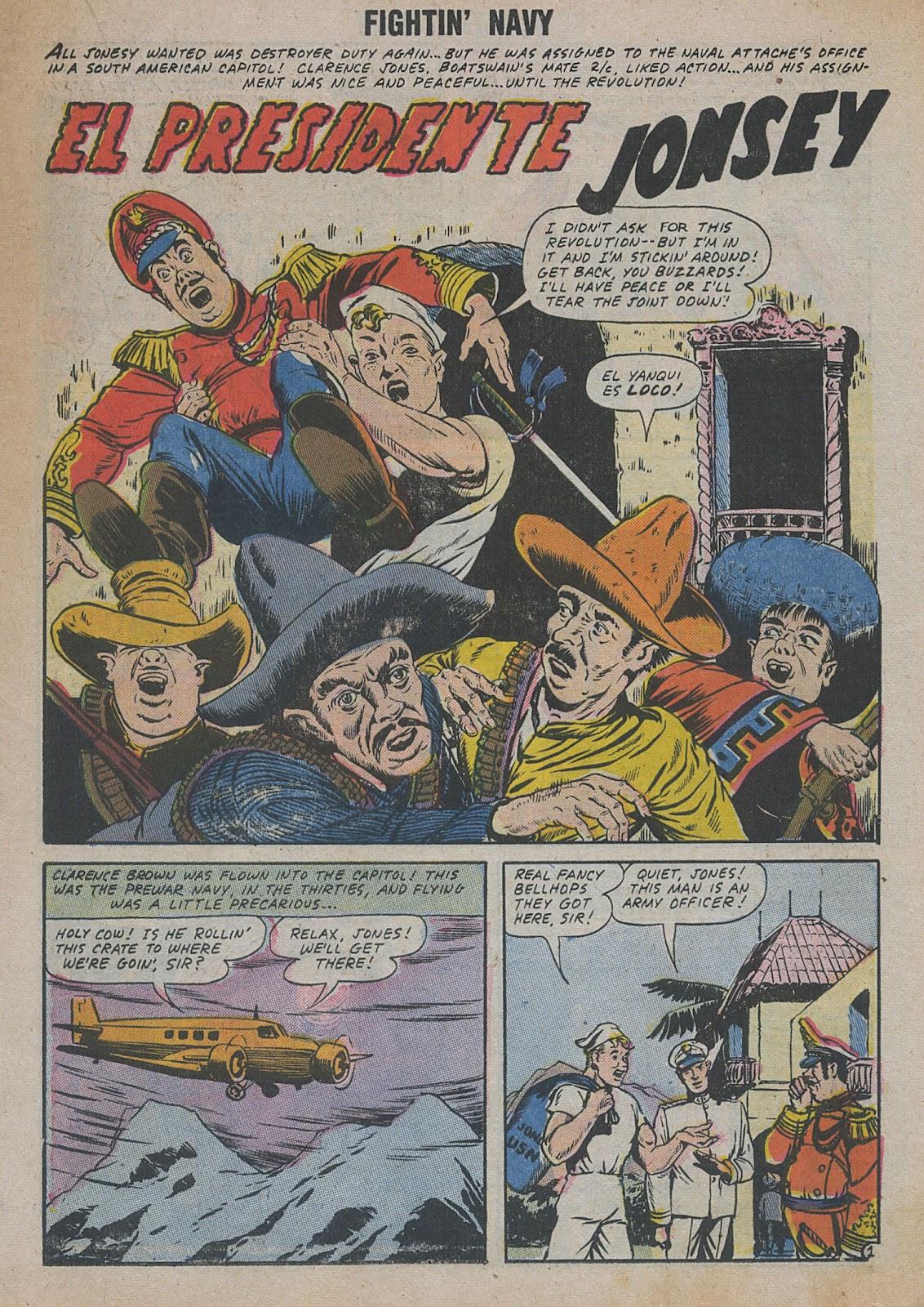 Read online Fightin' Navy comic -  Issue #82 - 29