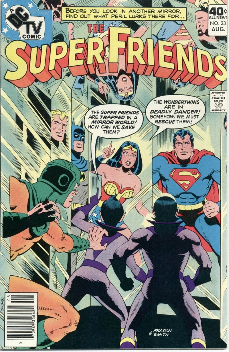The Super Friends issue 23 - Page 1