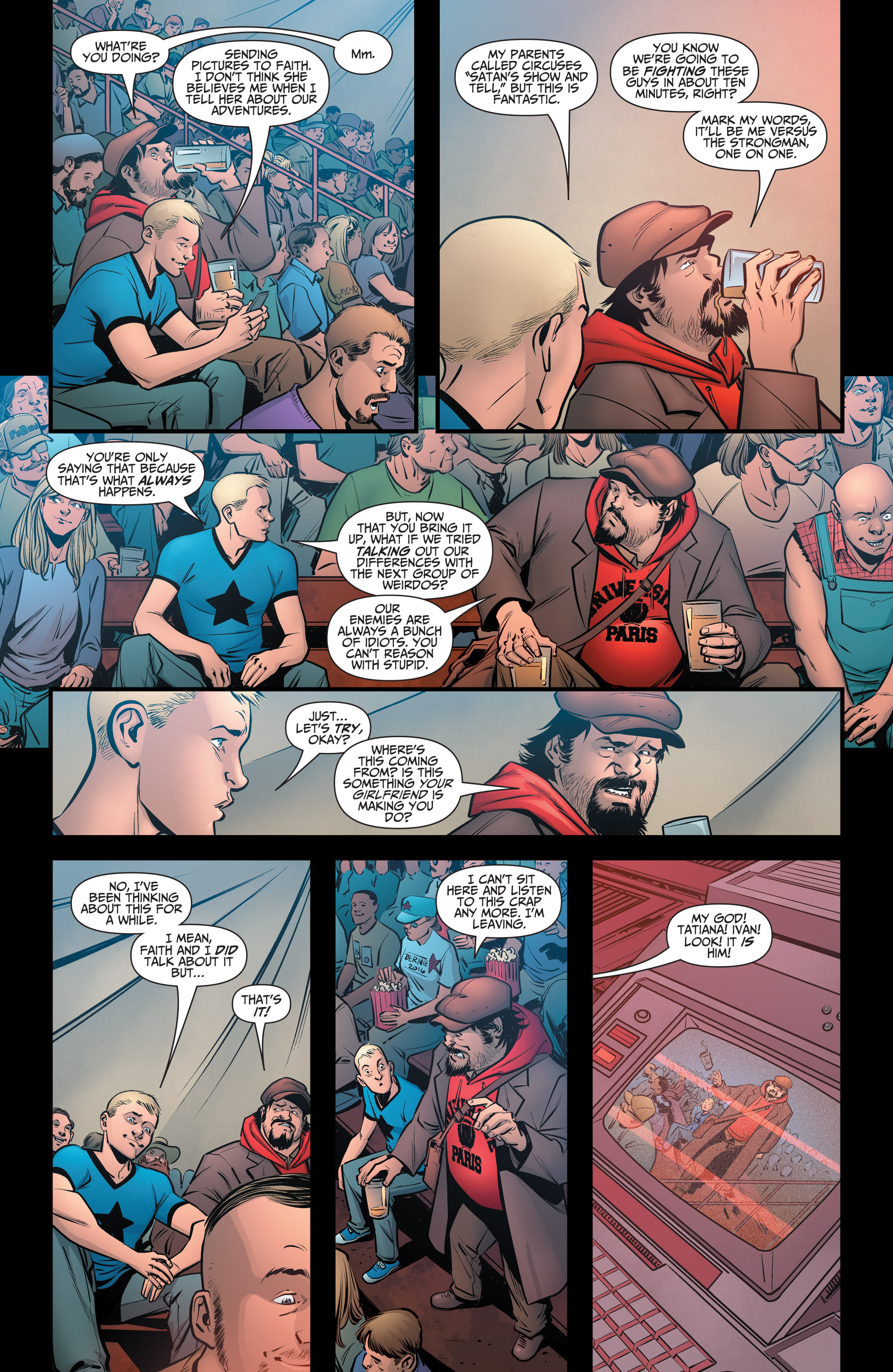 Read online A&A: The Adventures of Archer & Armstrong comic -  Issue #6 - 16
