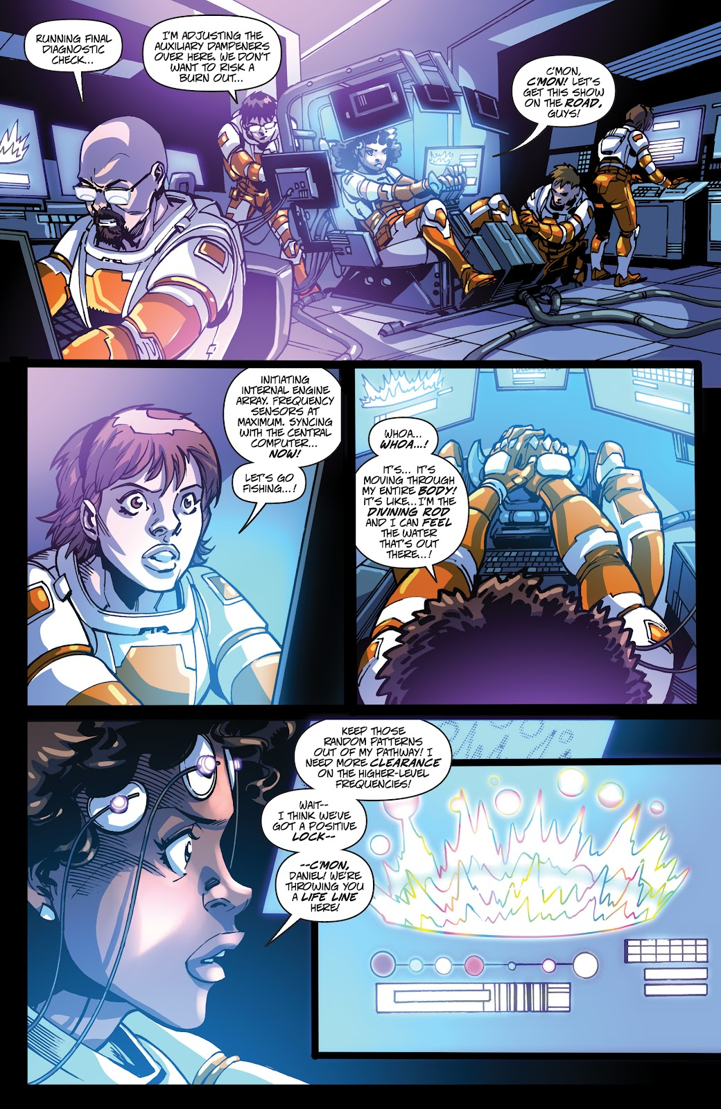 Read online Accell comic -  Issue #19 - 14