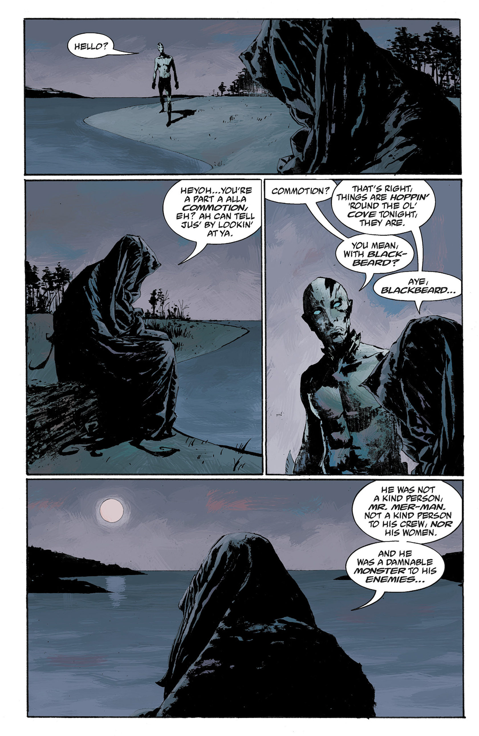Read online Hellboy: The Crooked Man and Others comic -  Issue # TPB - 92