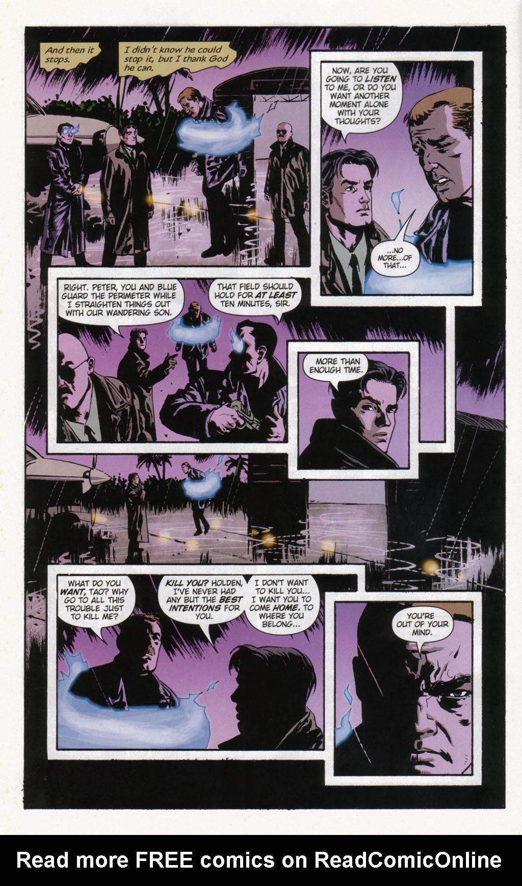 Read online Sleeper comic -  Issue #12 - 11