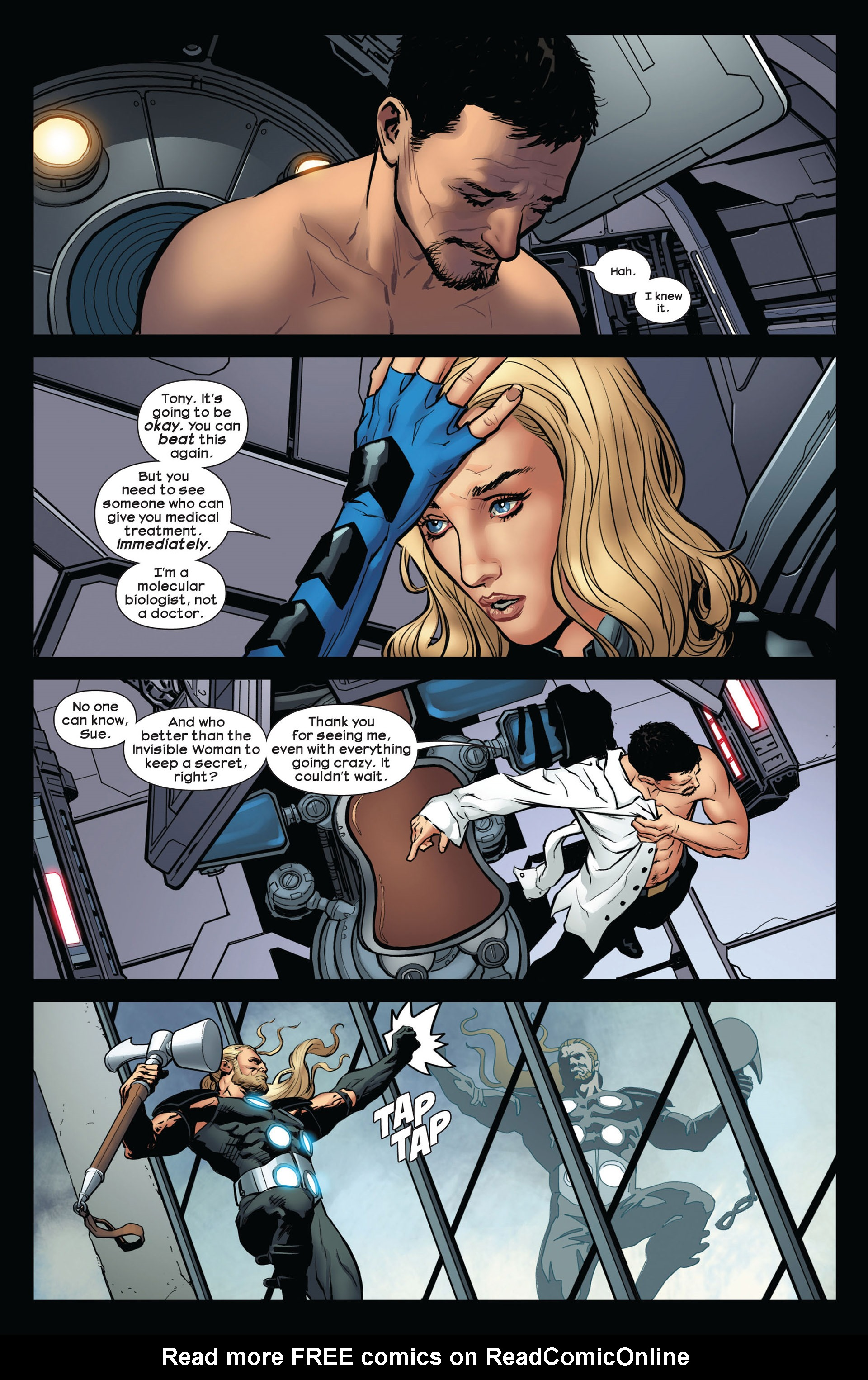 Read online Ultimate Comics Ultimates comic -  Issue #10 - 19