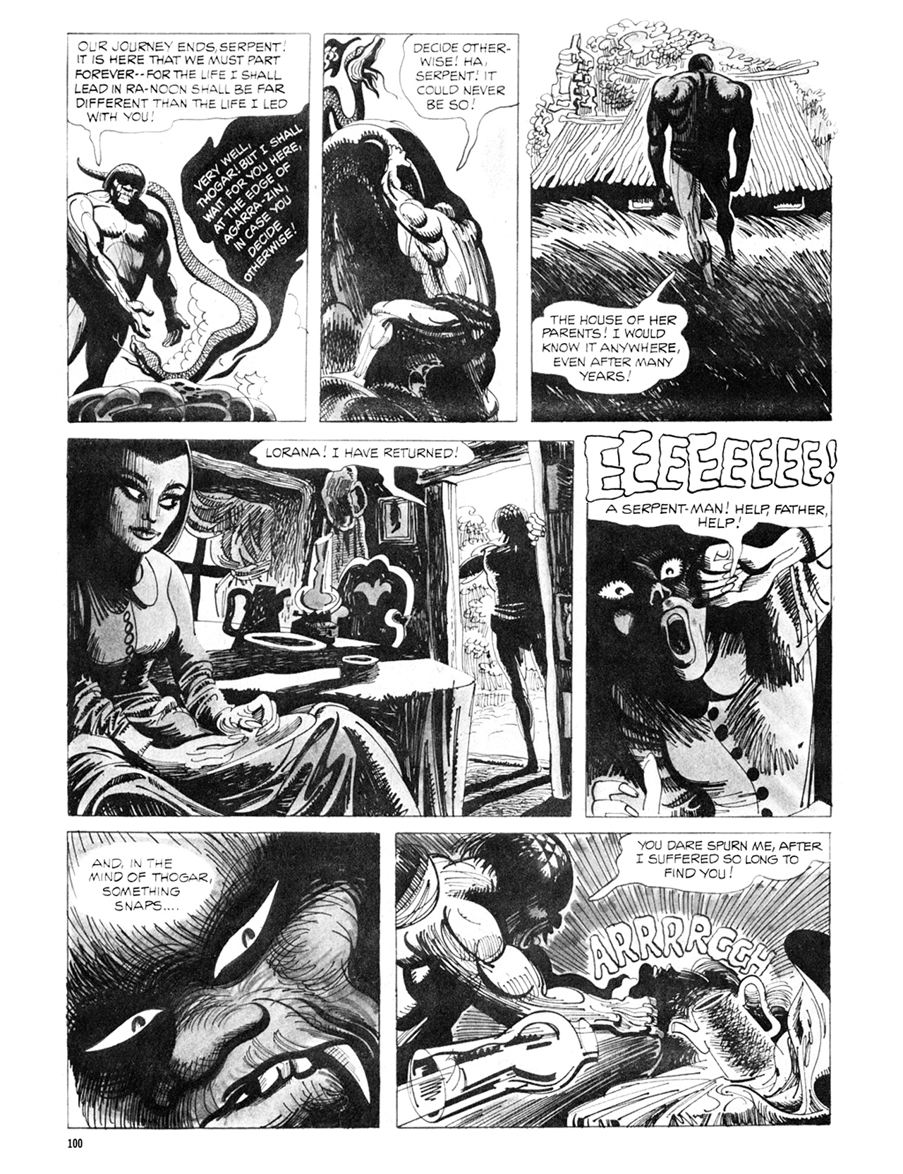 Read online Eerie Archives comic -  Issue # TPB 8 - 101