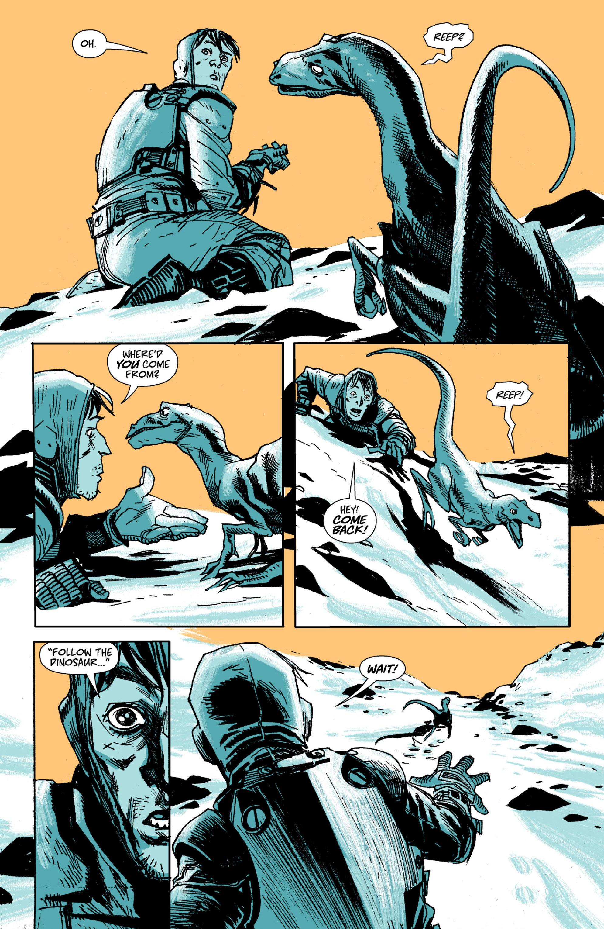 Read online Ei8ht comic -  Issue # TPB - 14