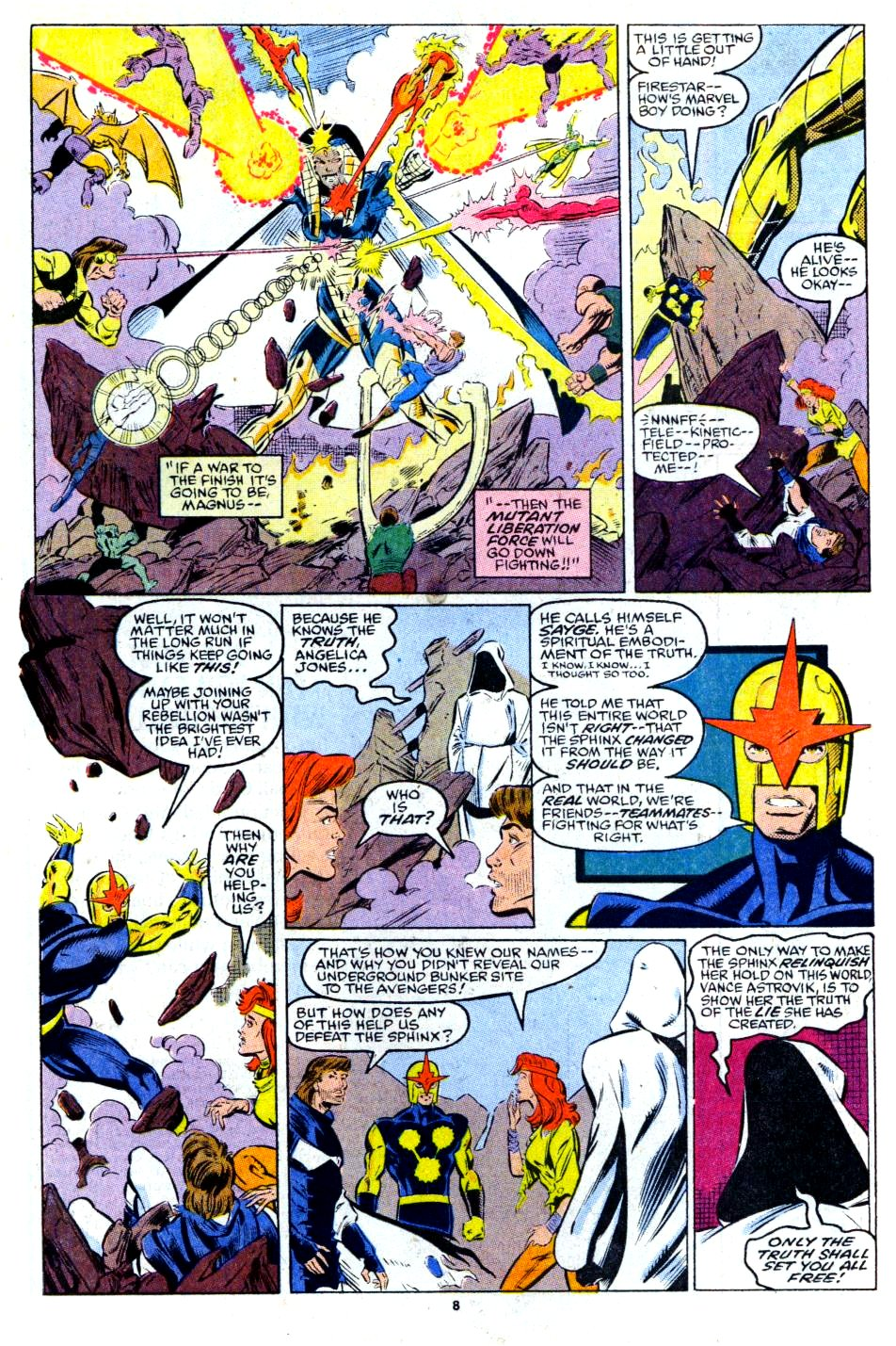The New Warriors Issue #13 #17 - English 7