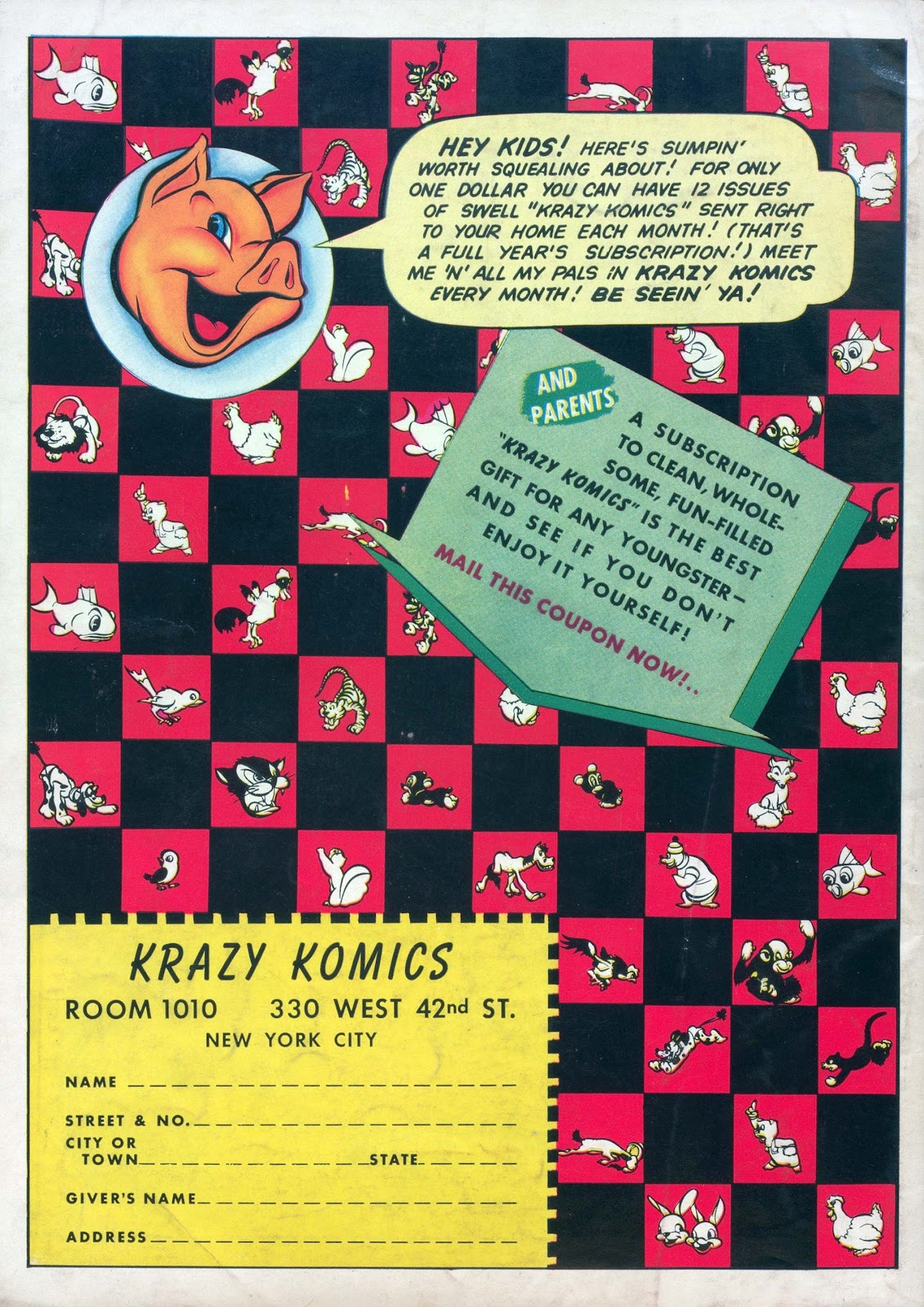 Krazy Komics issue 1 - Page 68