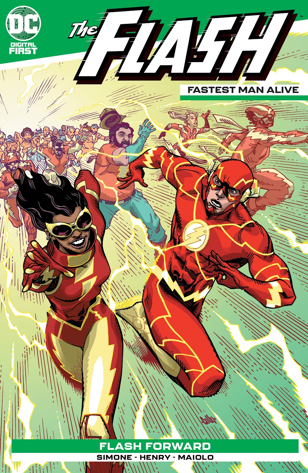 Flash: Fastest Man Alive 4 Page 1