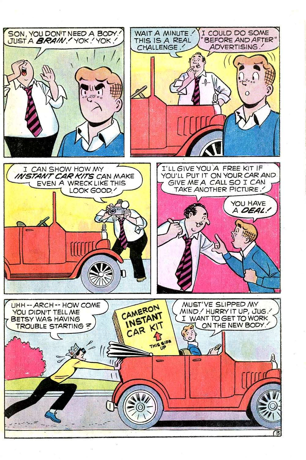 Read online Archie (1960) comic -  Issue #253 - 31