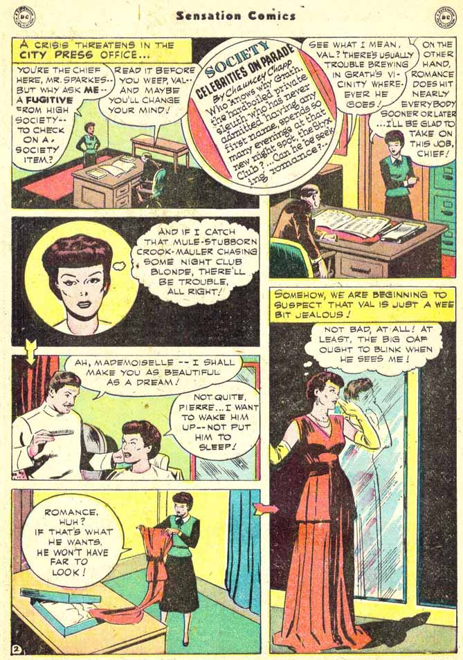 Read online Sensation (Mystery) Comics comic -  Issue #90 - 40