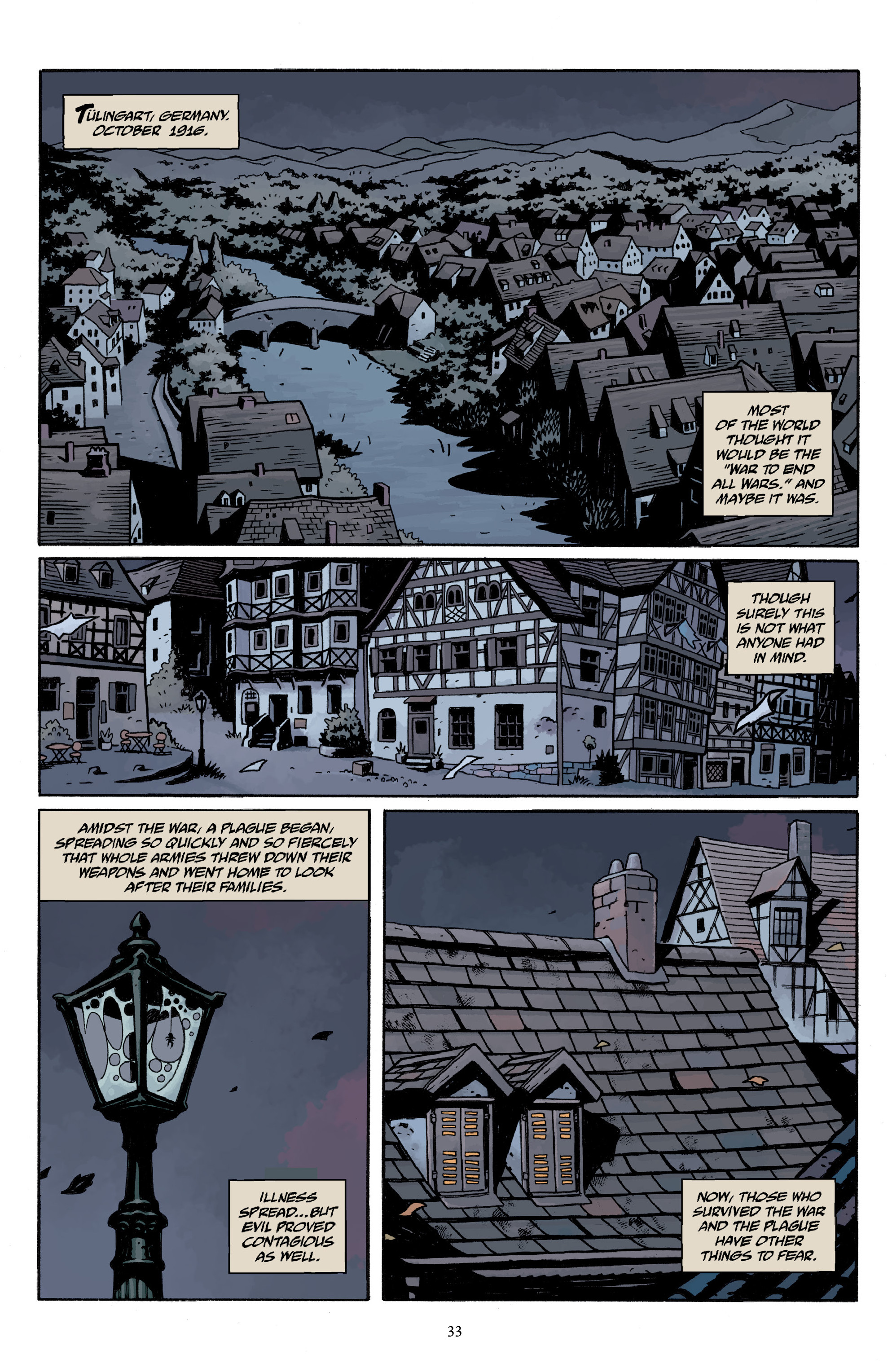 Read online Baltimore Volume 3: A Passing Stranger and Other Stories comic -  Issue # Full - 35